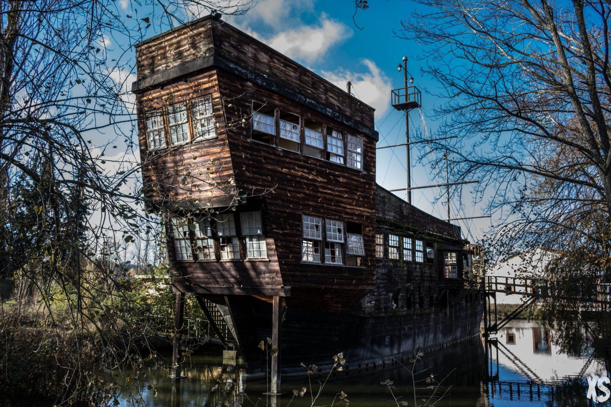 Le bateau restaurant exploration urbex insolite en midi pyr n es - Garage chateau de l hers toulouse ...