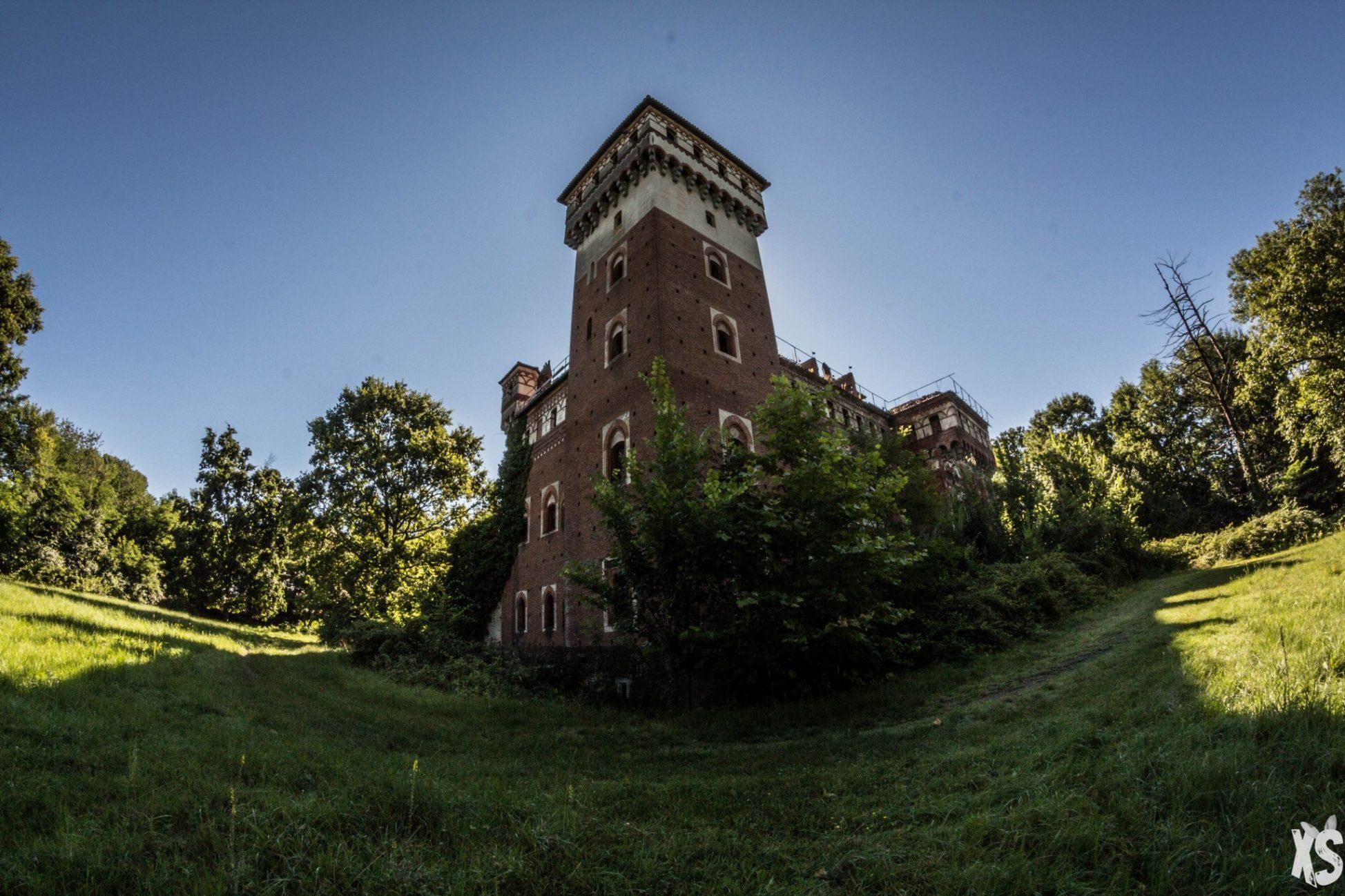 Château abandonné en Italie