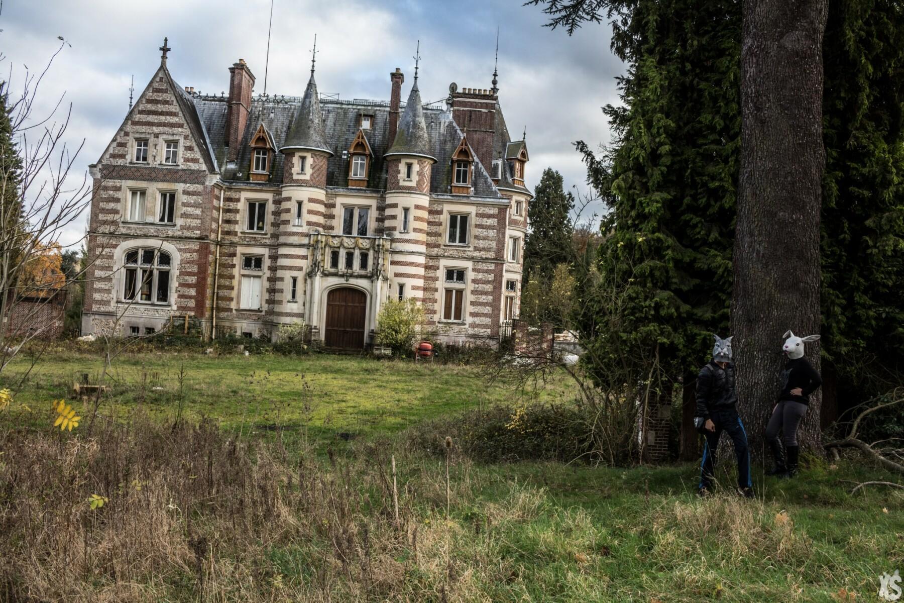 Château abandonné en Normandie