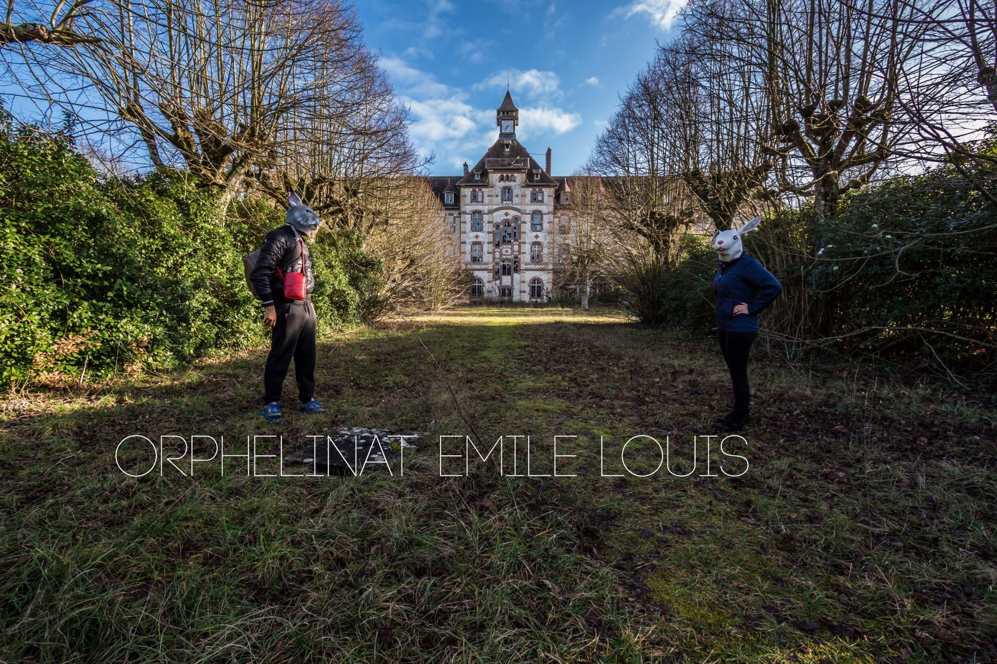 Orphelinat abandonné dans le centre de la France