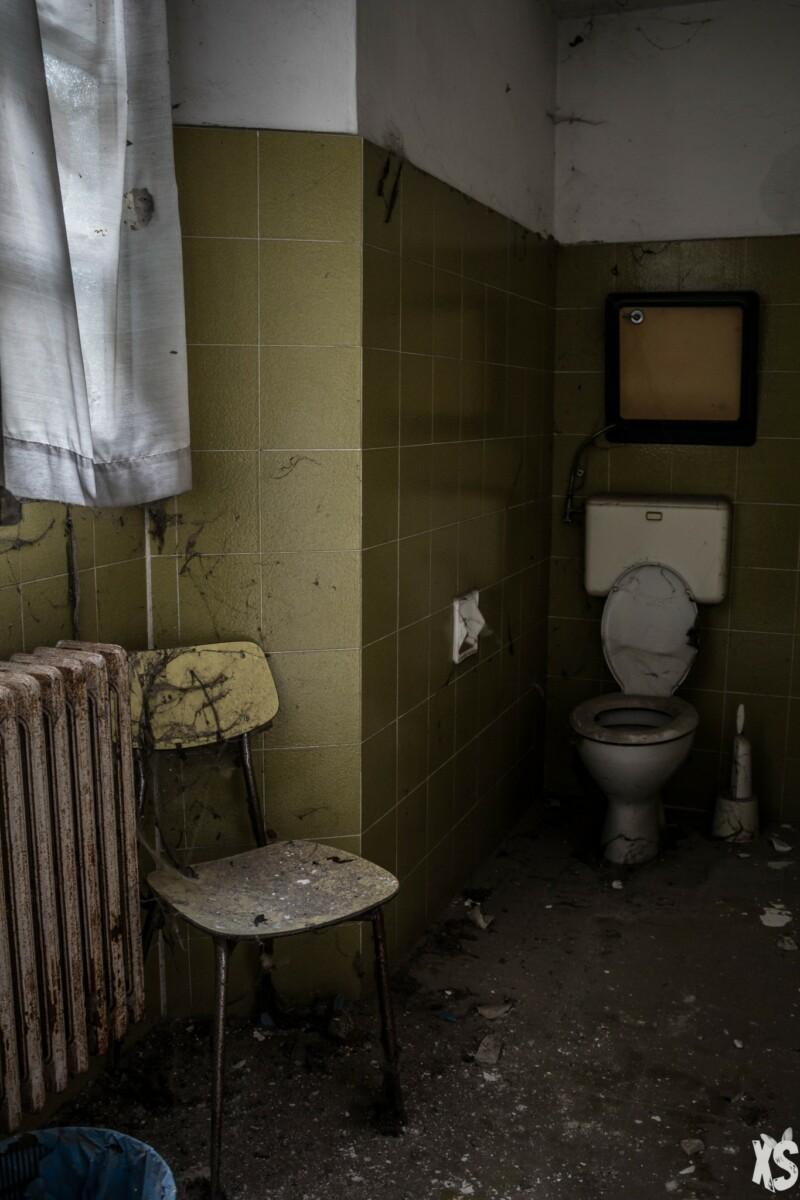 Asile abandonné en Italie