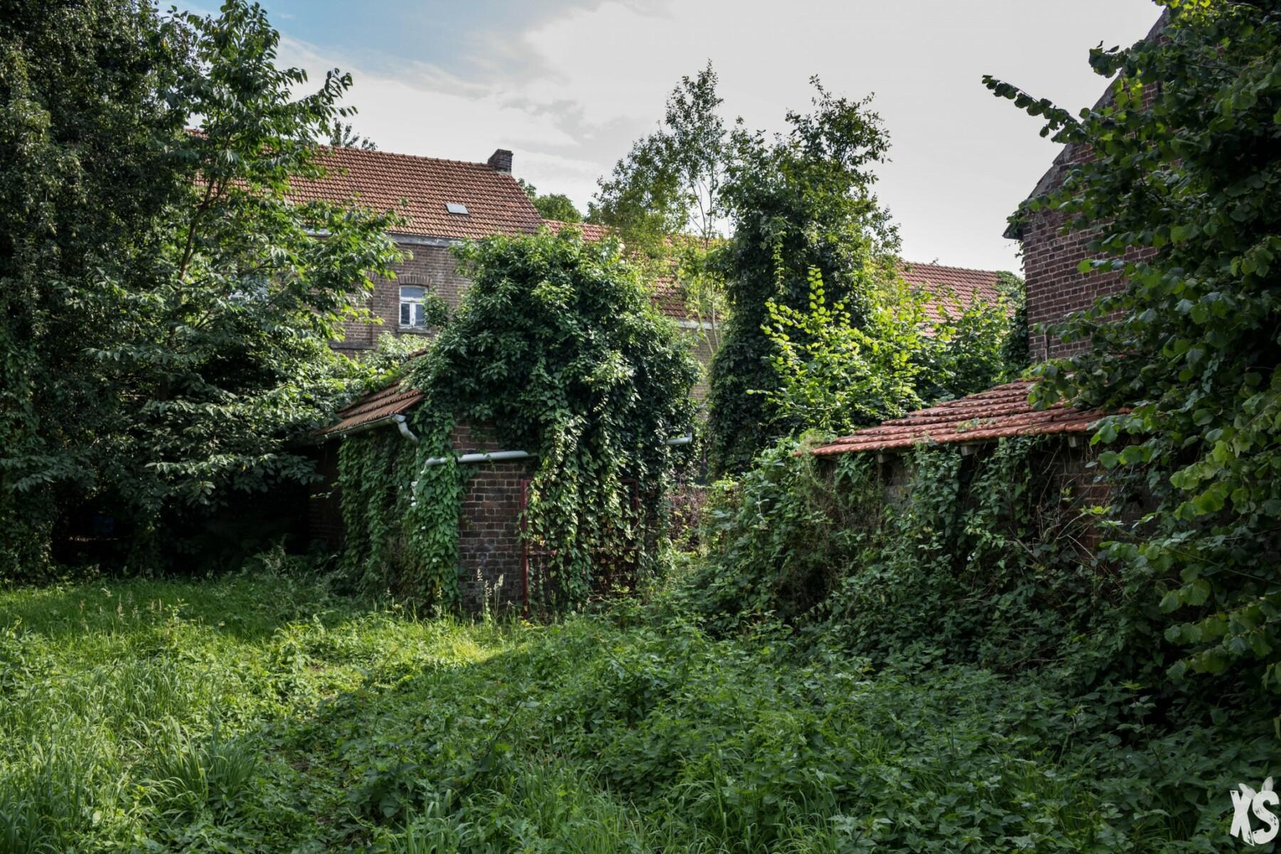 Maison abandonnée en Belgique
