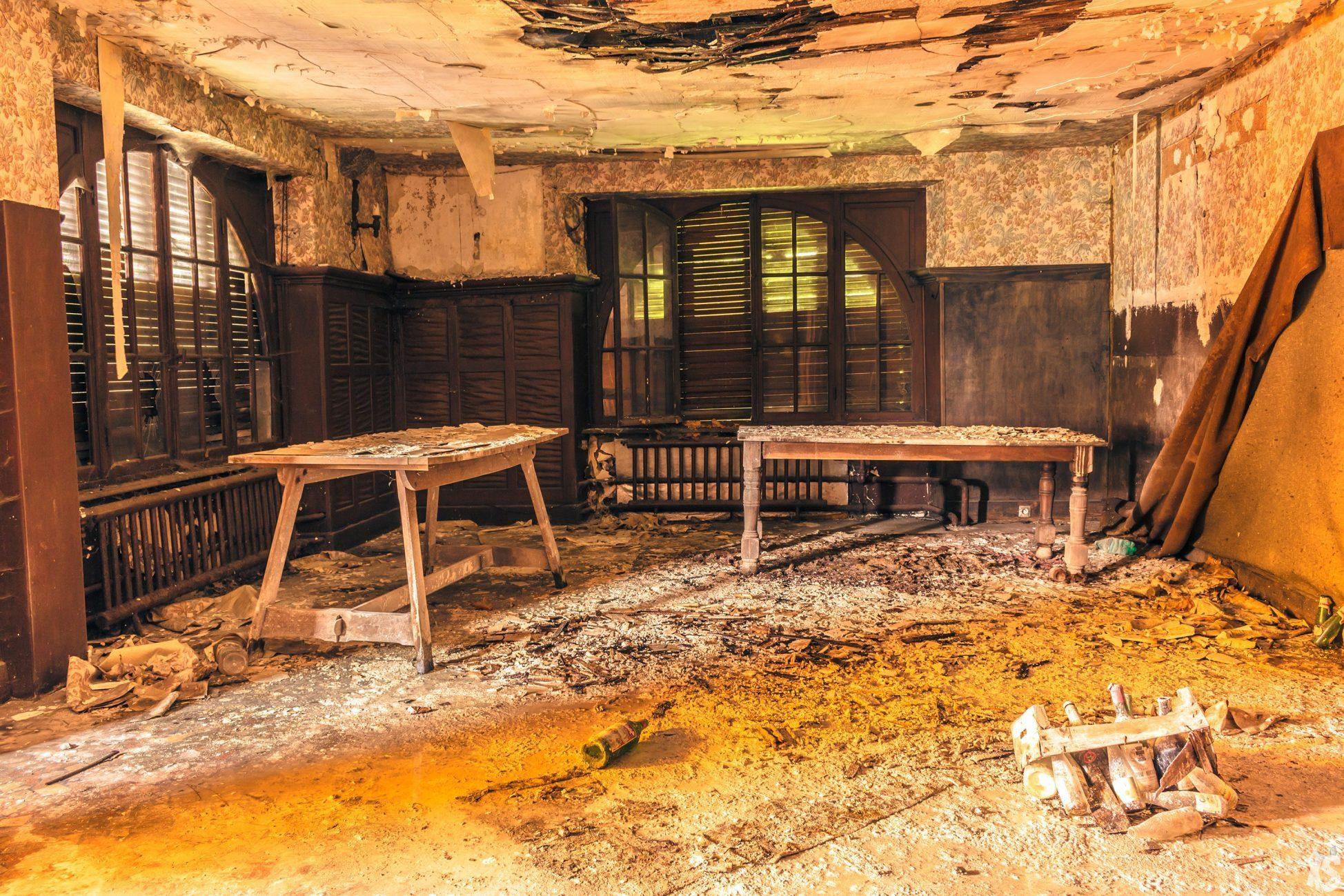 Hôtel abandonné en Lorraine