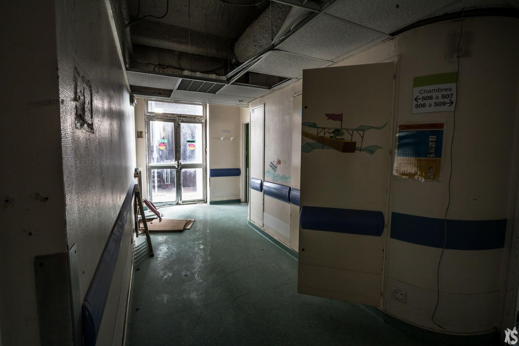 Hôpital abandonné à Paris