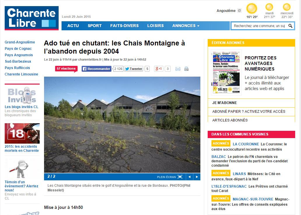 http://www.charentelibre.fr/2015/06/22/un-angoumoisin-de-13-ans-se-tue-dans-un-entrepot-desaffecte,2004140.php