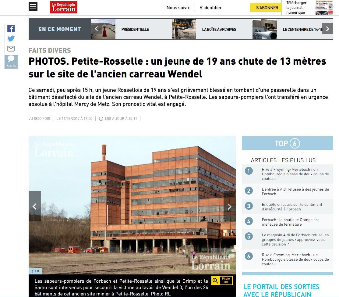 http://www.republicain-lorrain.fr/edition-de-forbach/2017/03/11/photos-petite-rosselle-un-jeune-de-19-ans-chute-de-13-metres-sur-le-site-de-l-ancien-carreau-wendel
