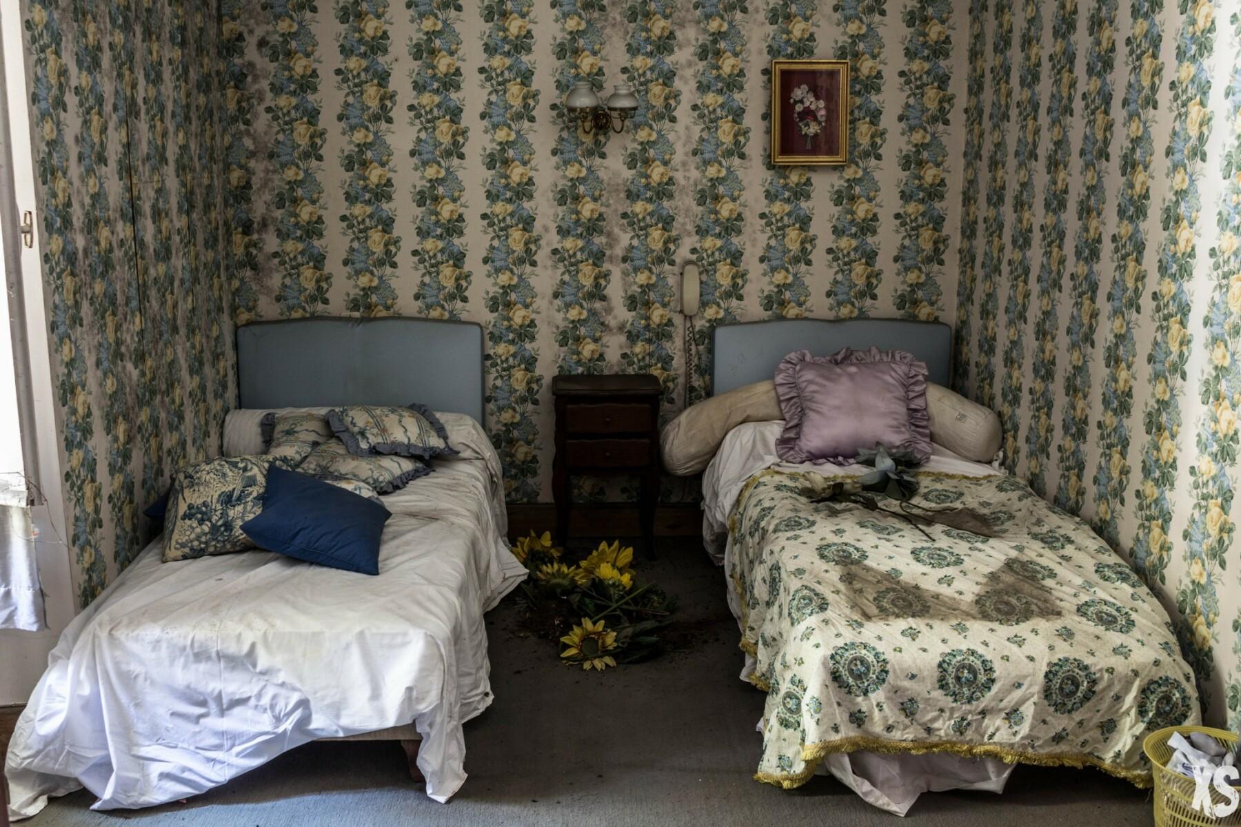 Hôtel abandonné en Aquitaine
