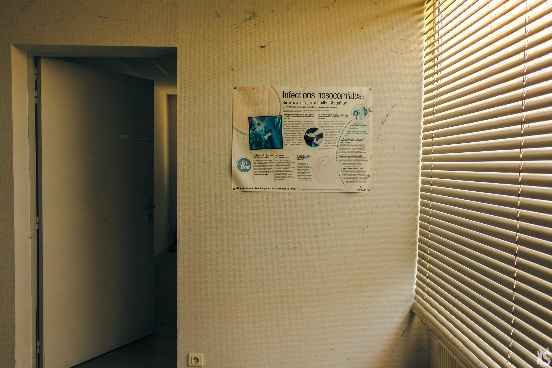 Clinique abandonnée à Merignac - Gironde