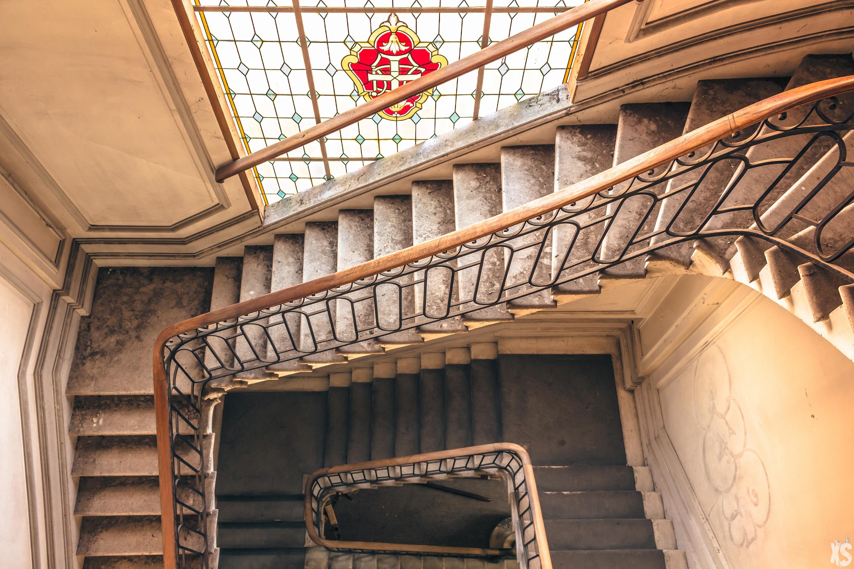 Endroit abandonné insolite en périphérie de Bordeaux