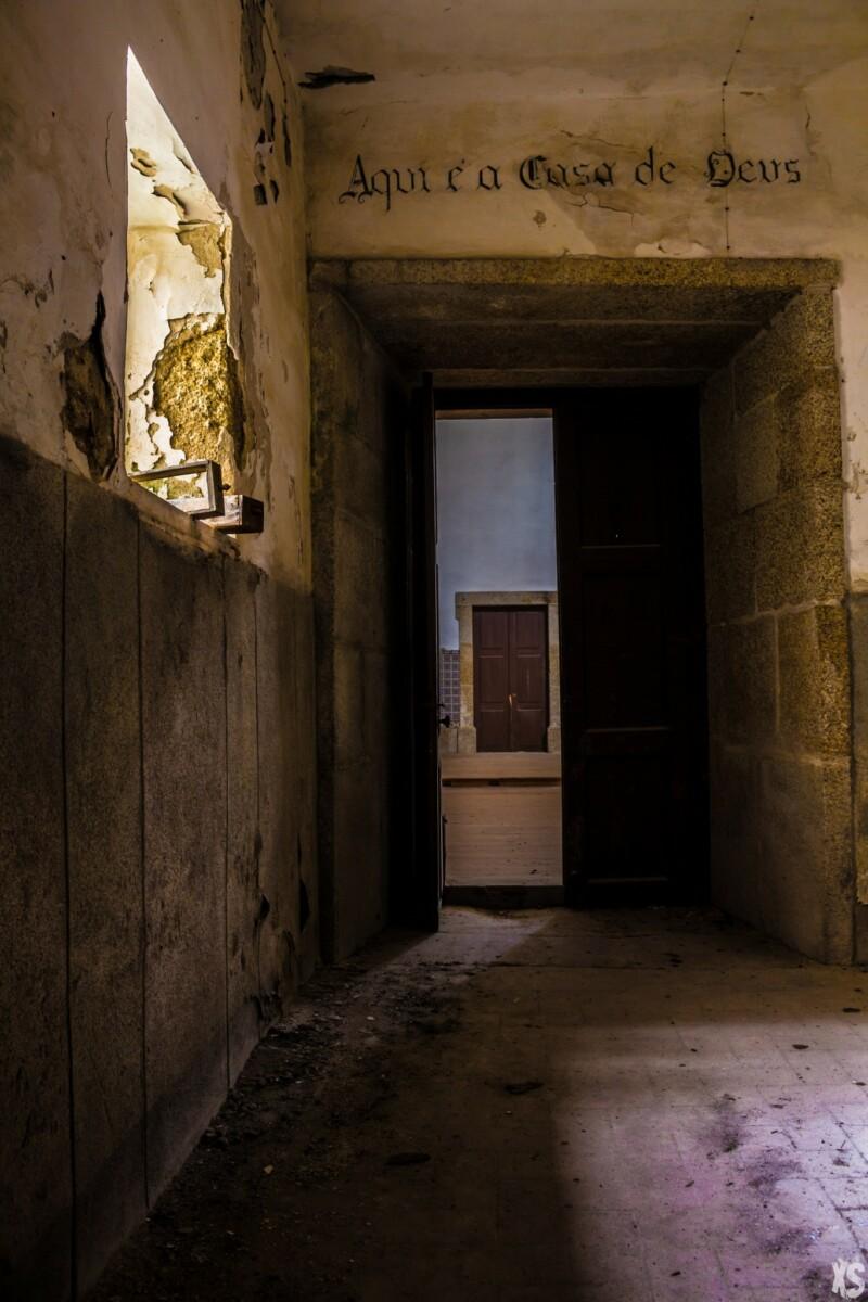 Internat abandonné au Portugal