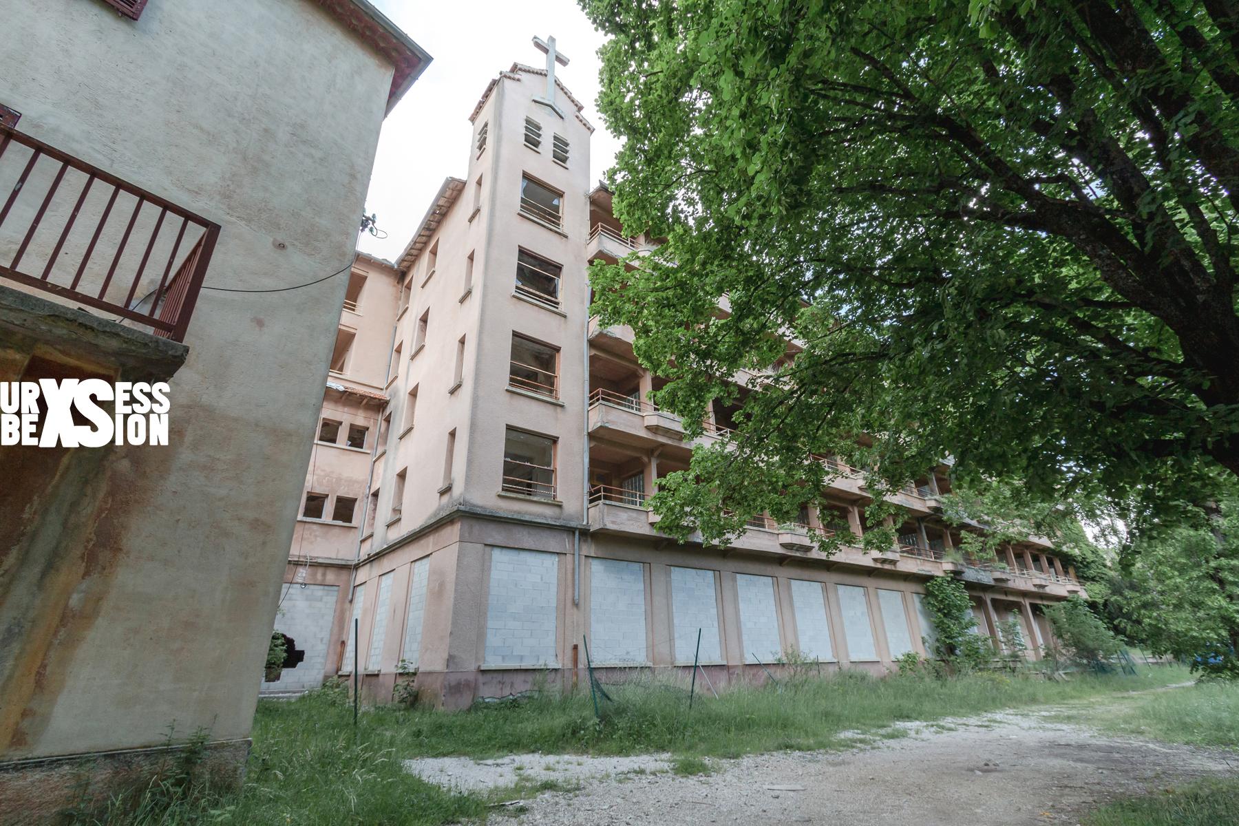 Hôpital abandonné en Côte d'Azur
