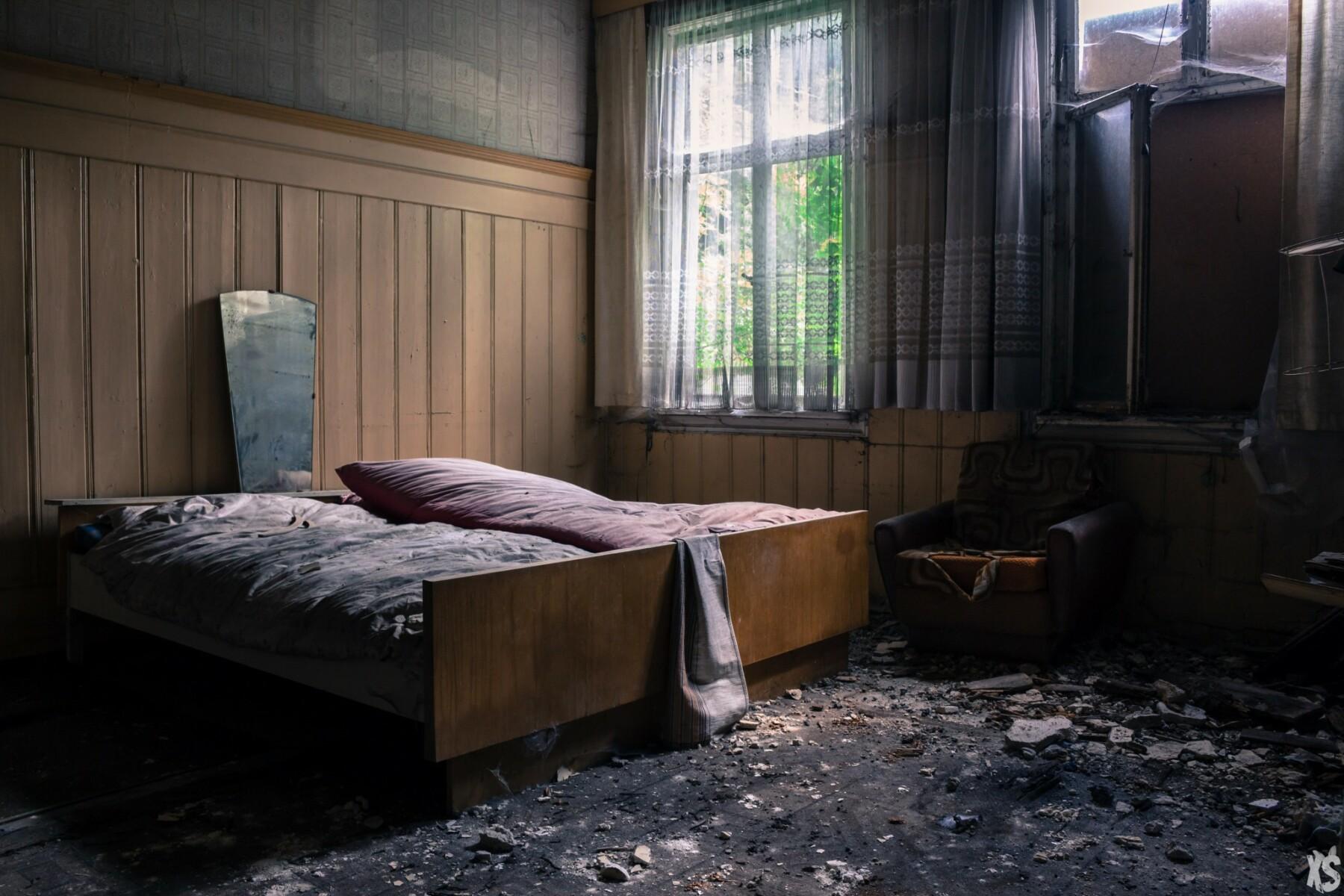 Manoir abandonné en Allemagne