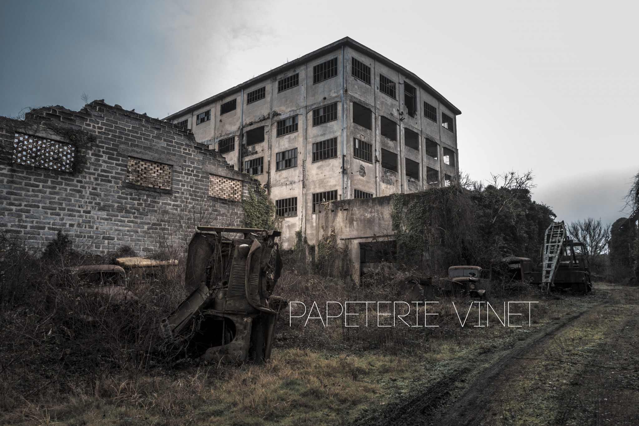 papeterie vinet exploration urbex gironde. Black Bedroom Furniture Sets. Home Design Ideas