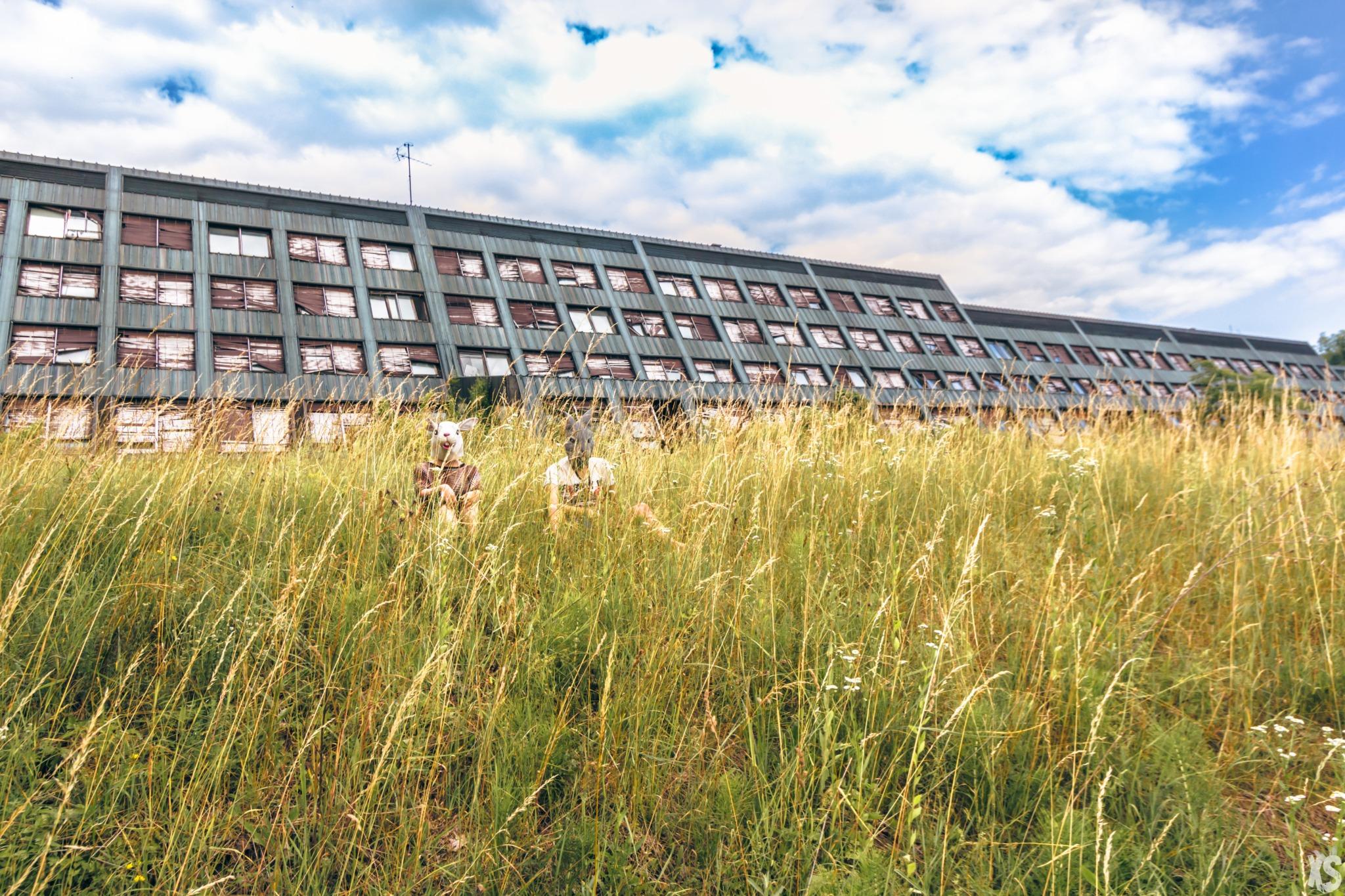 Université abandonnée en Croatie