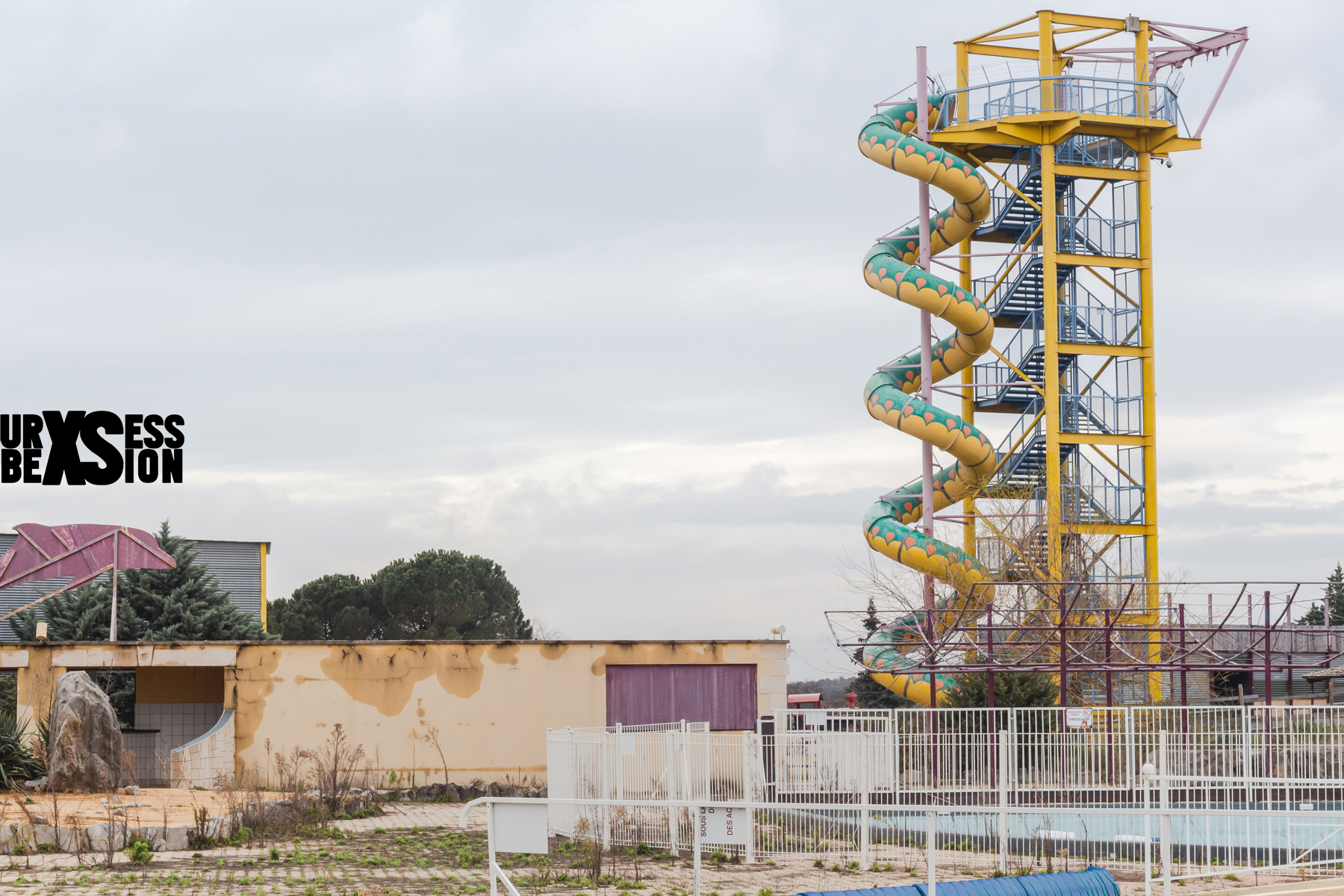 Abandoned amusement park in France | urbexsession.com/en/gacy-land-amusement-park | Urbex France