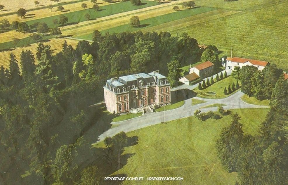 Chateau des Versannes situé à Biozat | urbexsession.com/chateau-des-versannes-biozat | Urbex France