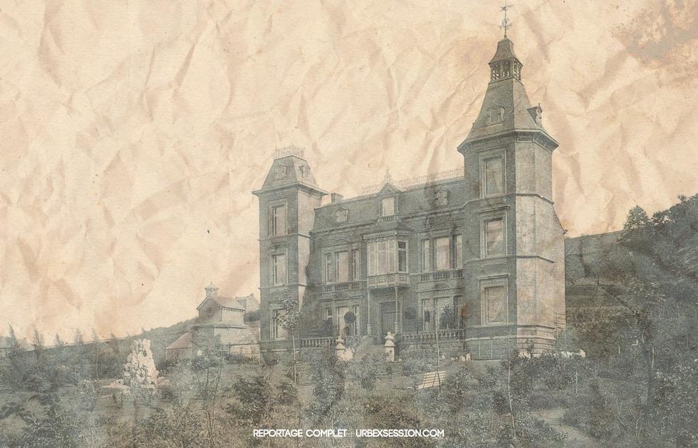 Château abandonné en Belgique