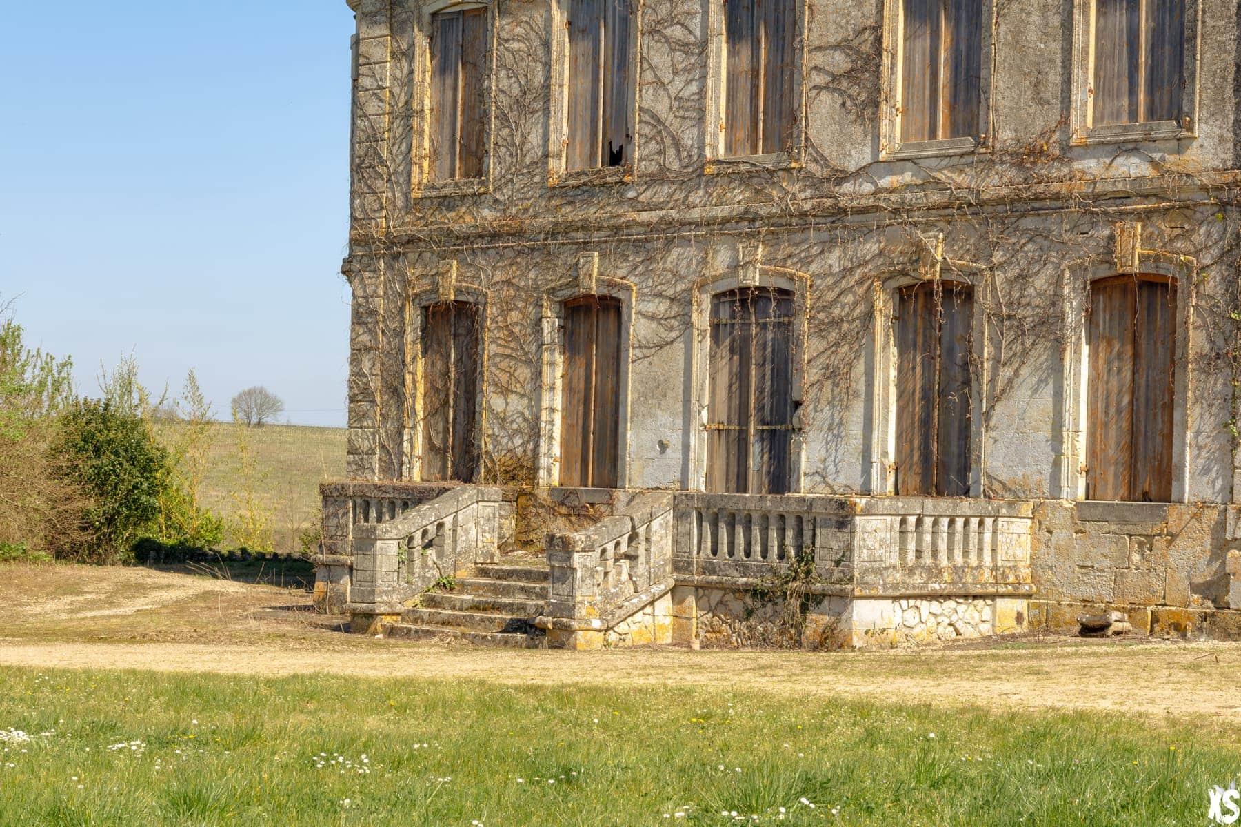 Château abandonné situé en Gironde | urbexsession.com/chateau-edward-gein | Urbex Aquitaine