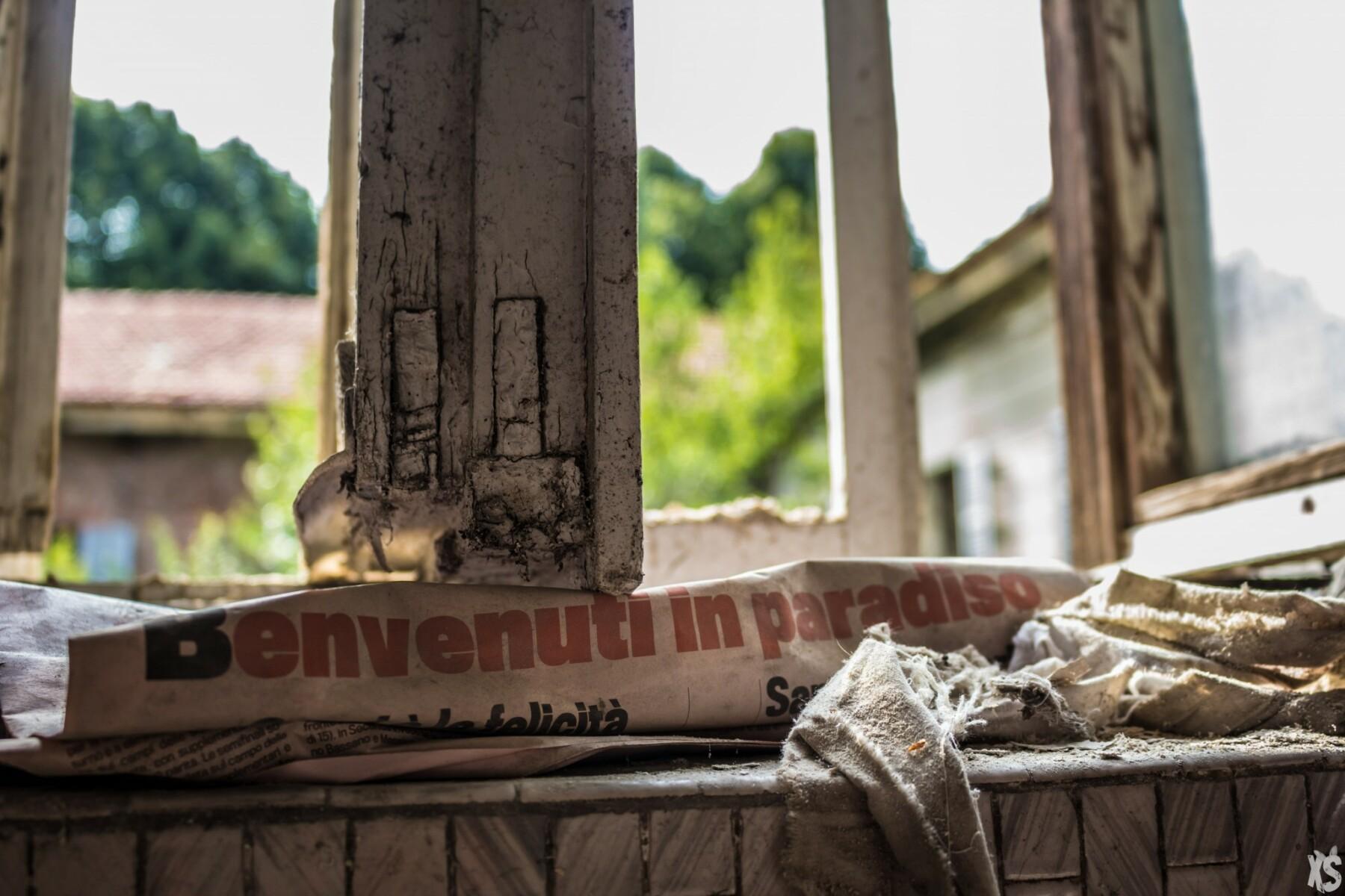 Asile désaffecté en Italie