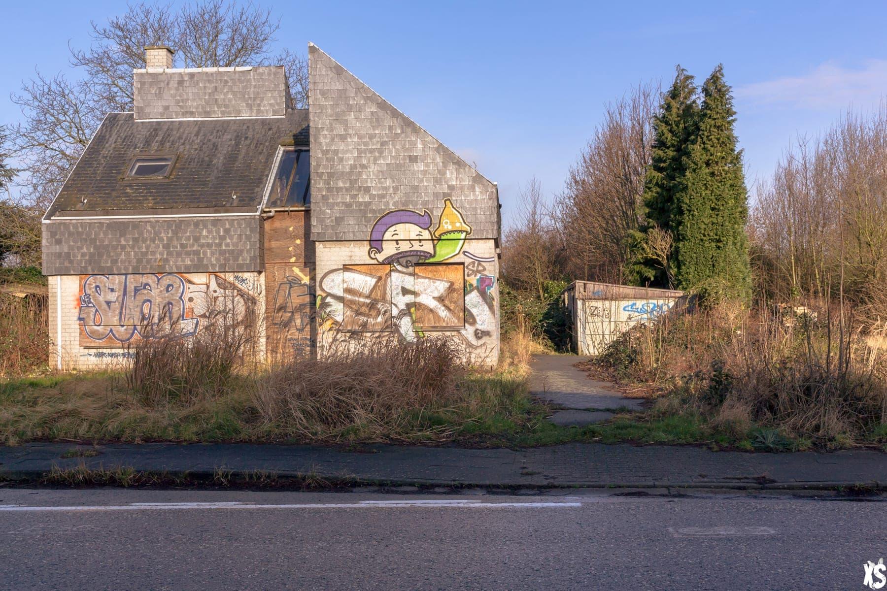 Ciudad abandonada de Doel : https://urbexsession.com/es/ciudad-abandonada-de-doel