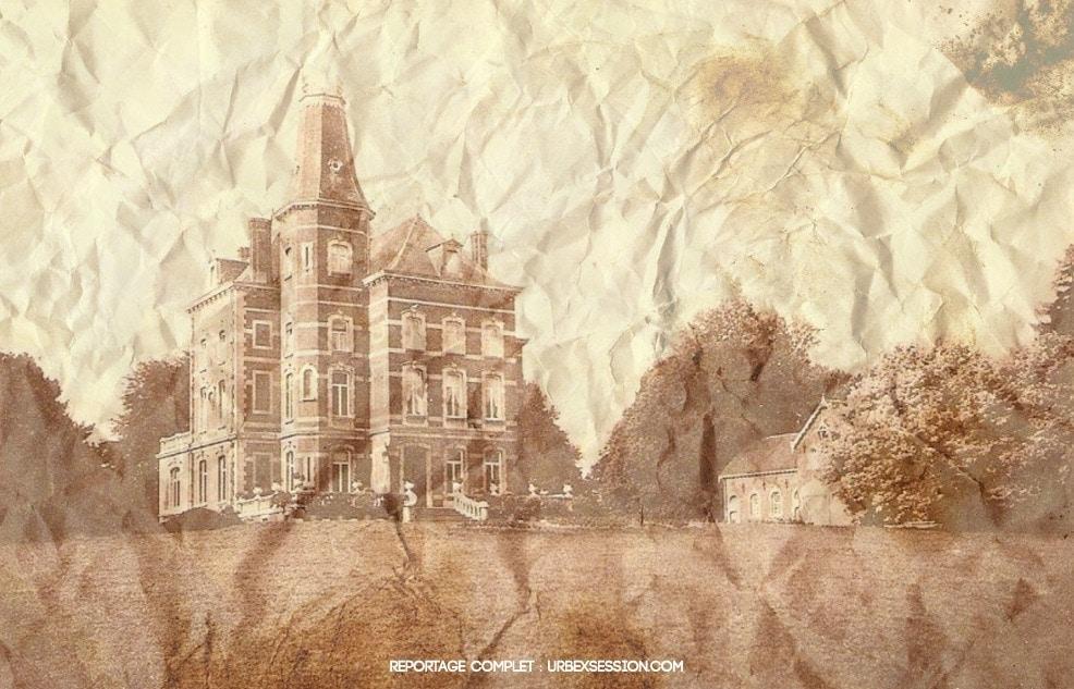 Abandoned castle in Belgium | urbexsession.com/en/pandy-castle | Urbex Belgium