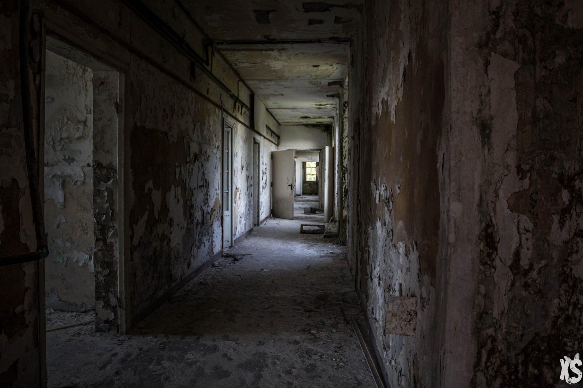 Sanatorium abandonné en Italie