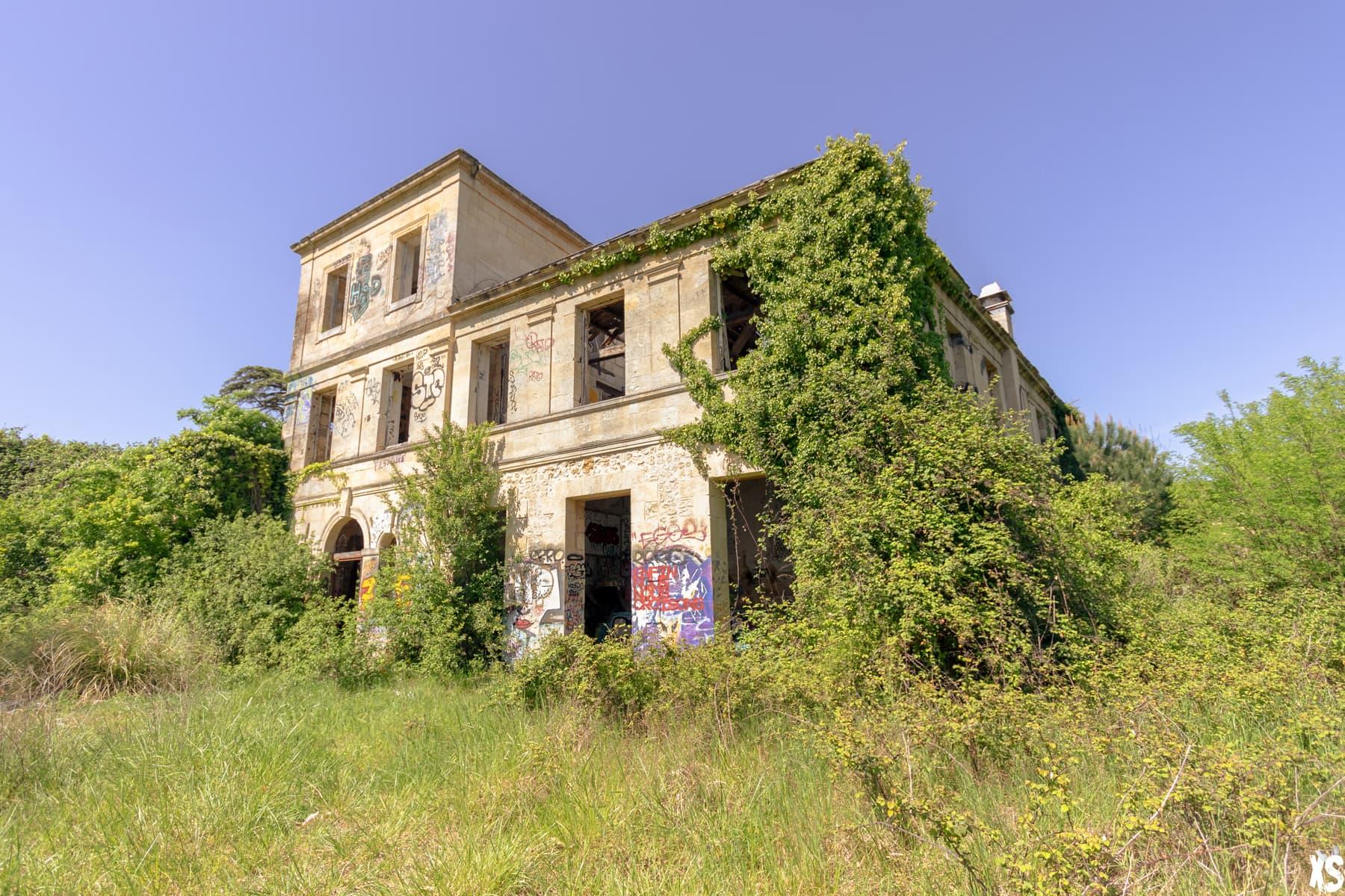 Chartreuse de Bel Sito située à Floirac   urbexsession.com/chartreuse-de-bel-sito   Urbex Floirac