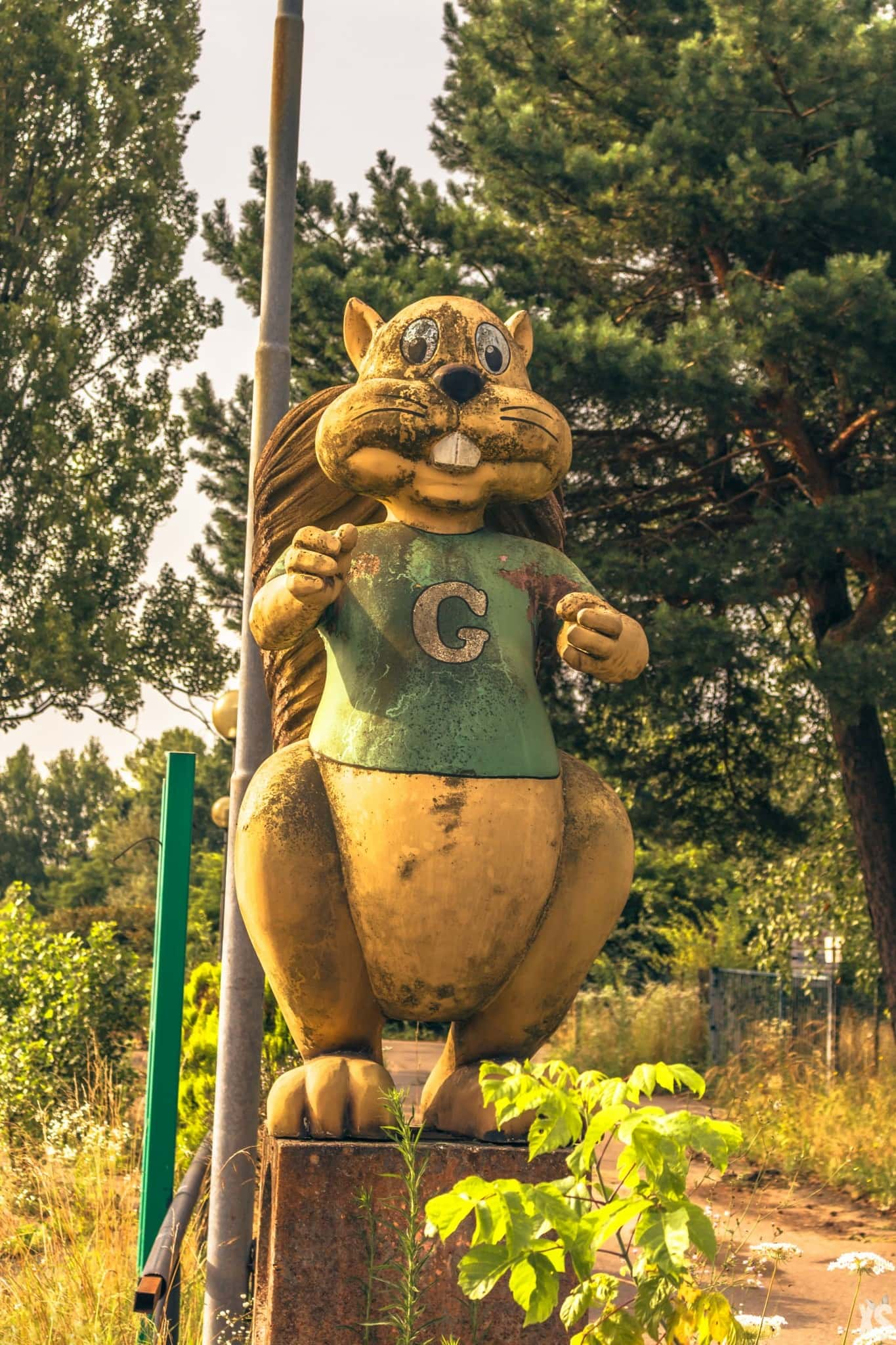 Parc d'attraction abandonné en Italie | urbexsession.com/beaver-land | Urbex Italie