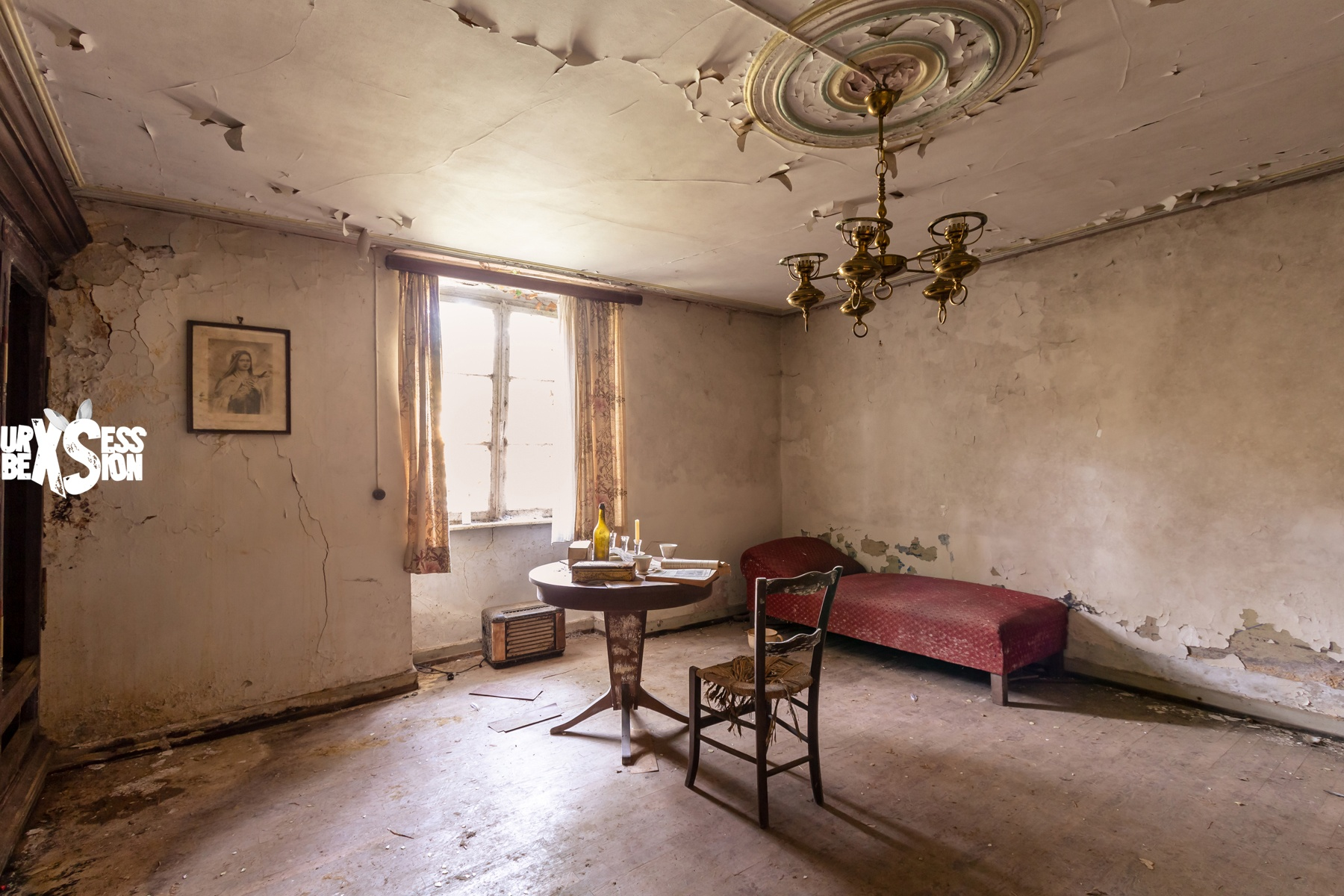 Maison Bodein - Urbex Luxembourg - Reportage : https://urbexsession.com/maison-bodein