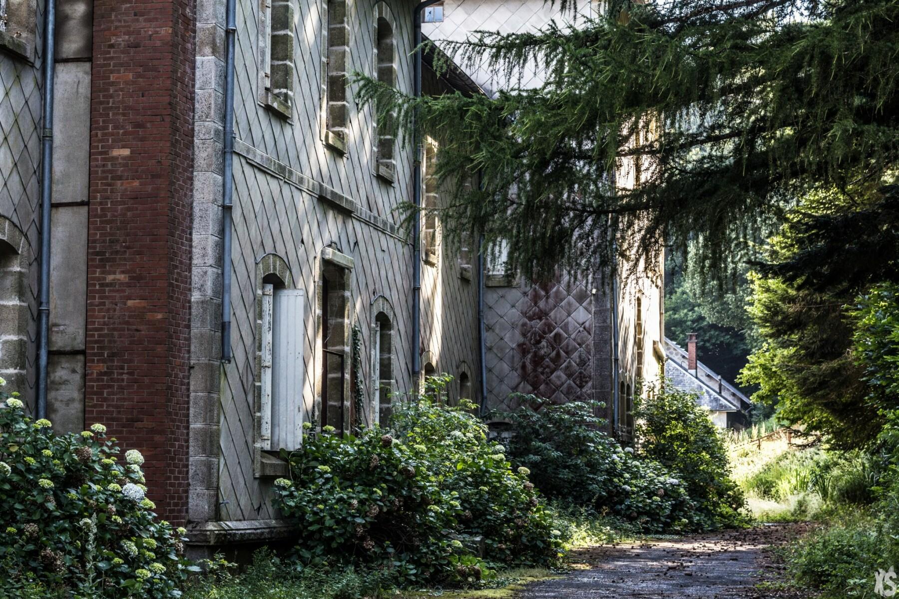 Sanatorium abandonné en Languedoc-Roussillon