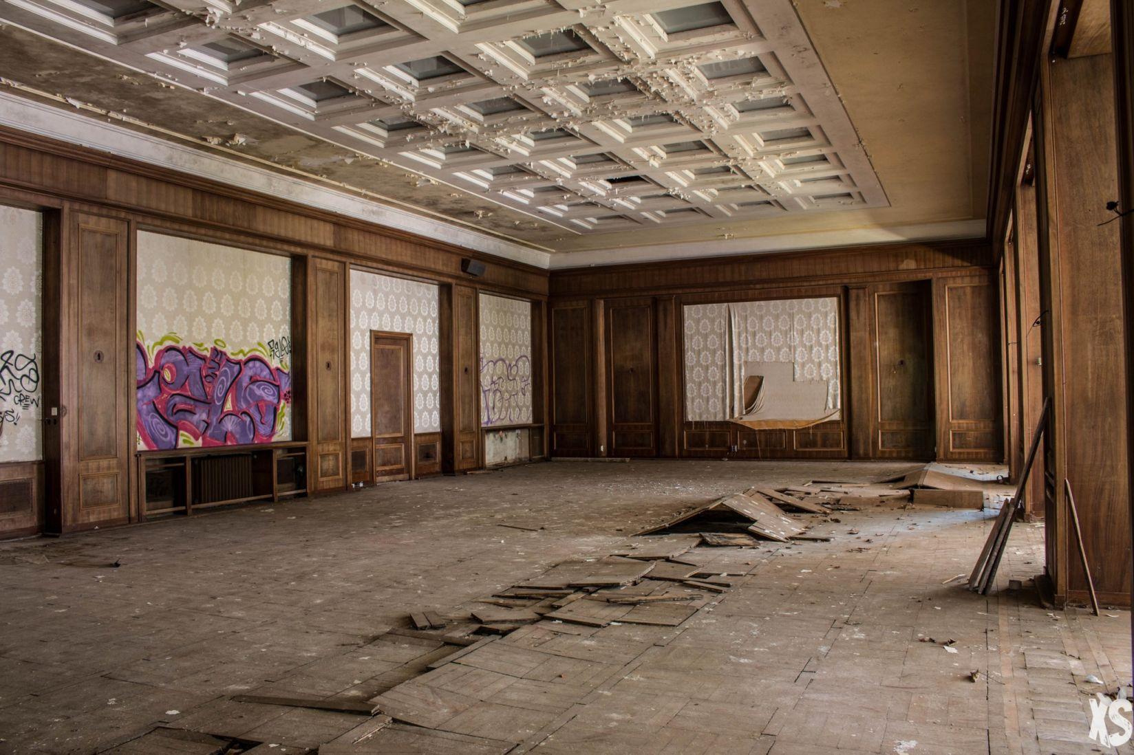 Hôtel abandonné en Allemagne