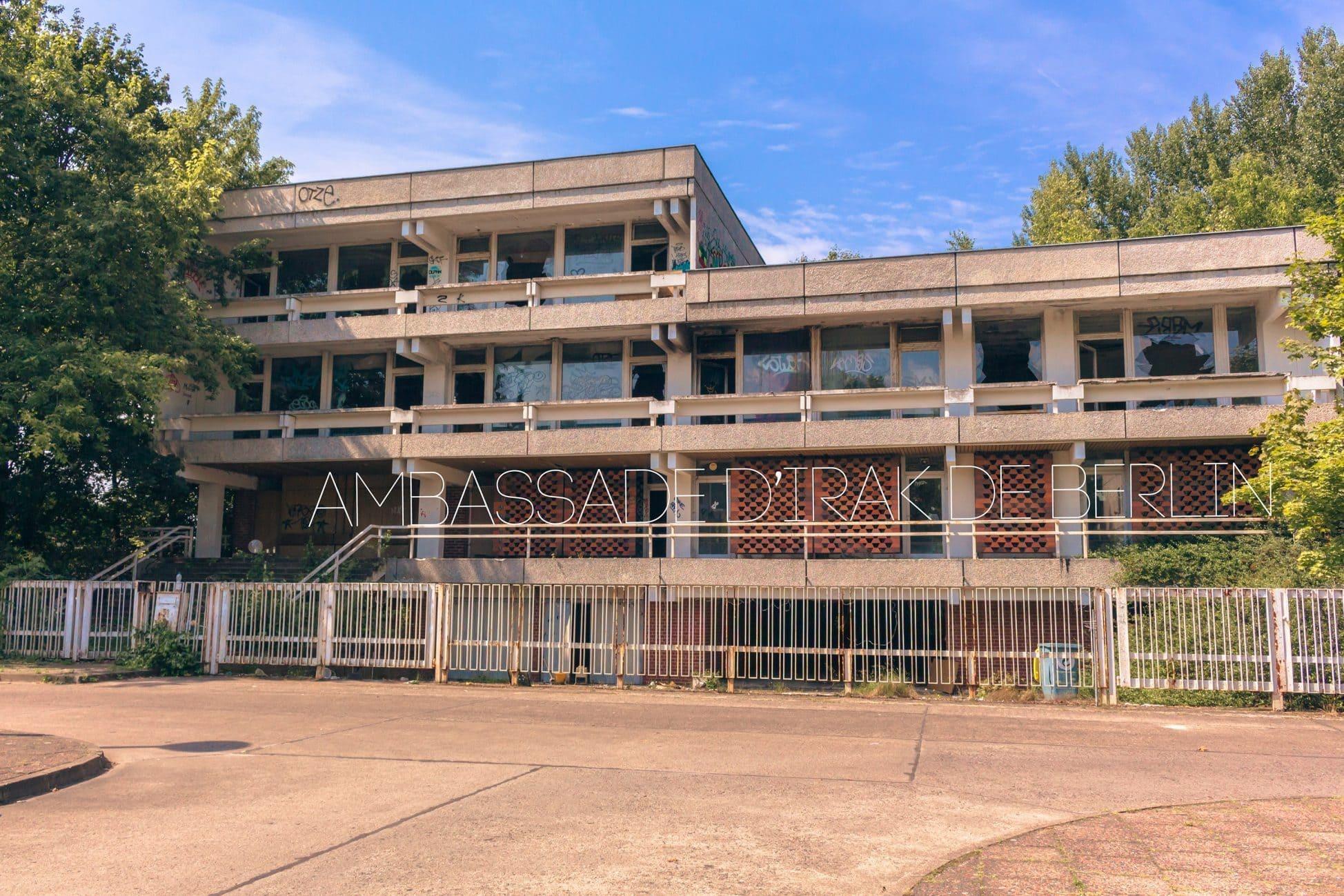 Ambassade d'Irak abandonnée à Berlin