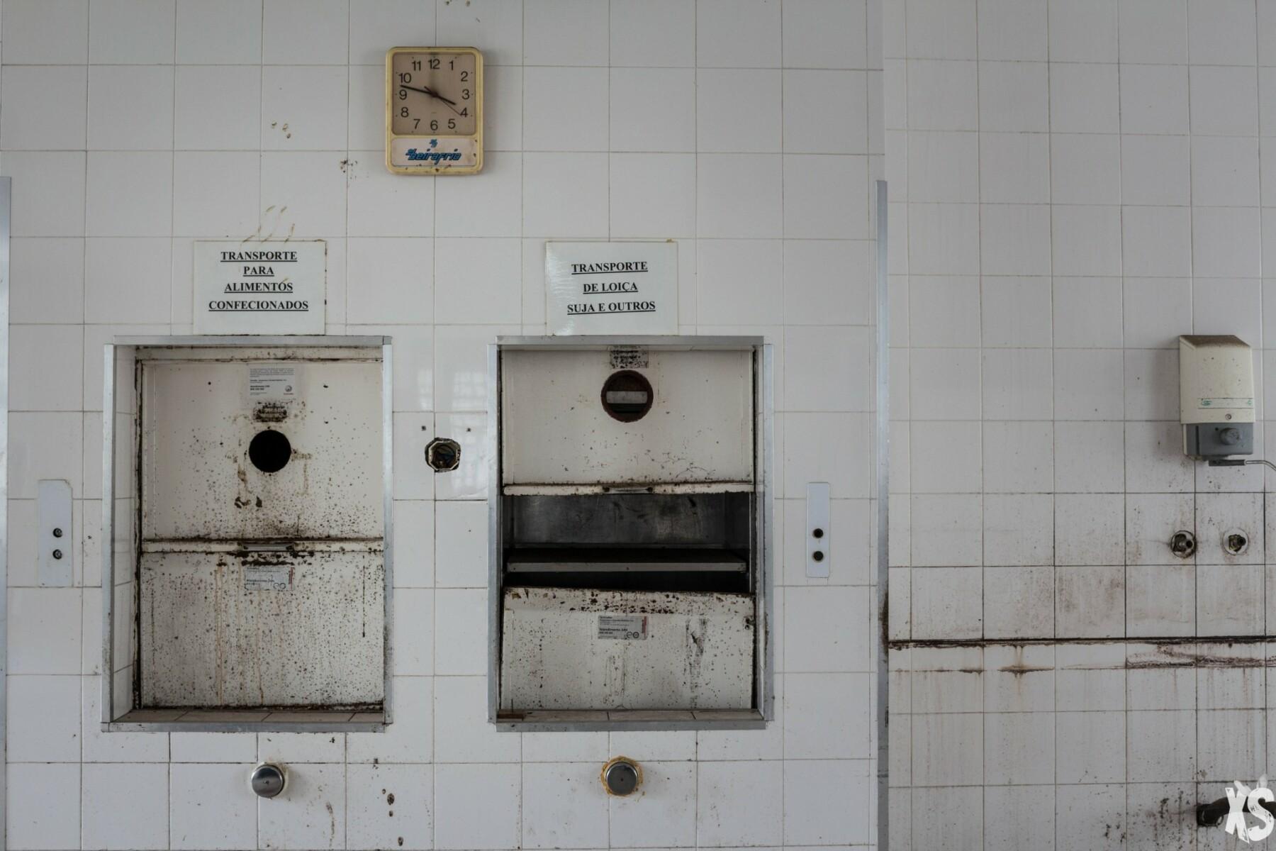 Hôtel abandonné au Portugal