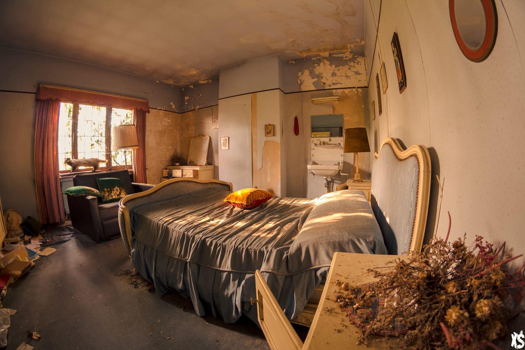 Villa abandonnée située en Italie | urbexsession.com/villa-docteur-buck-ruxton | Urbex Belgique