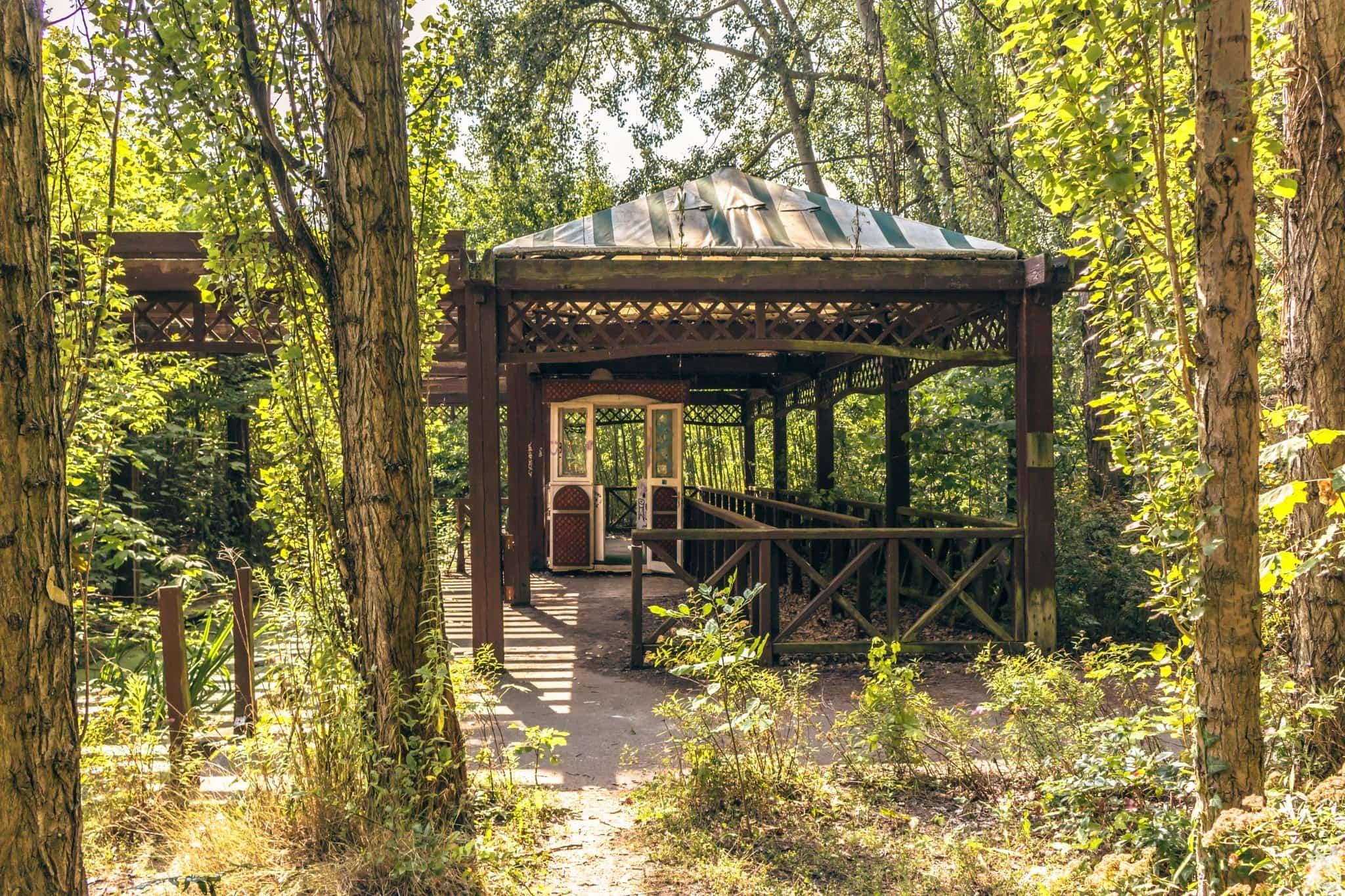 Spreepark, parc d'attraction abandonné en Allemagne