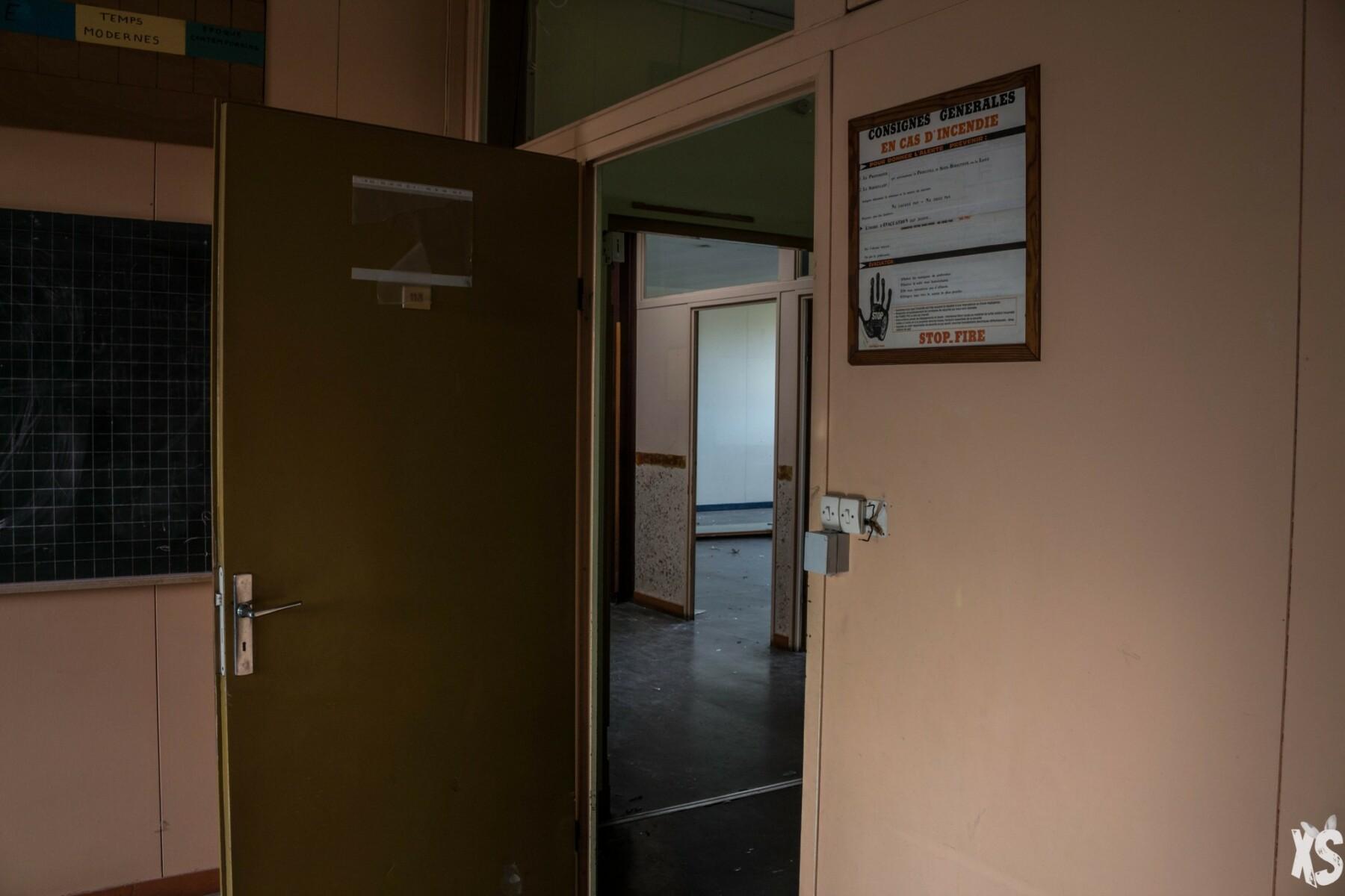 Collège abandonné en Gironde