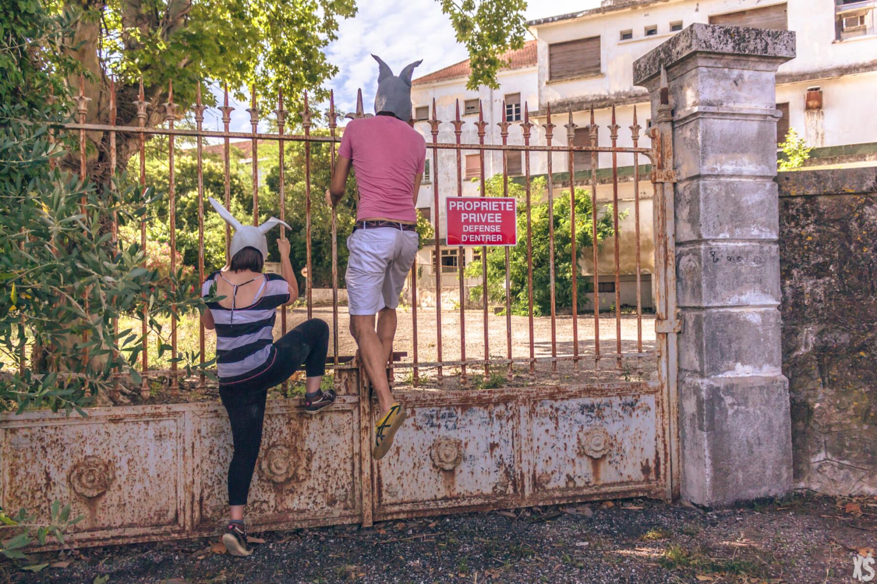 Sanatorium abandonné dans le sud de la France | urbexsession.com/sanatorium-julia-fazekas | Urbex France