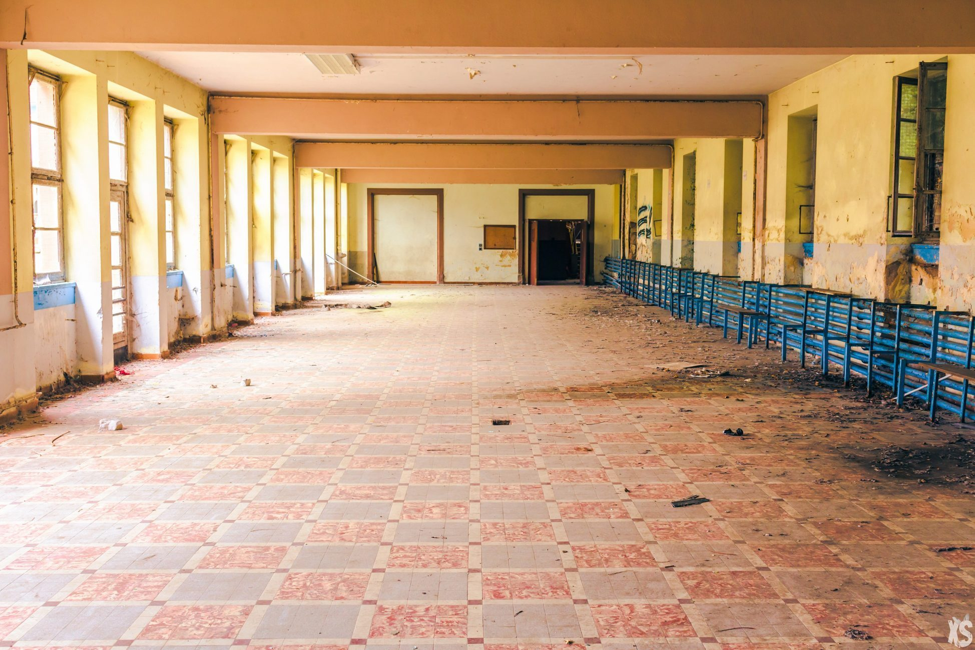 Abandoned school in France