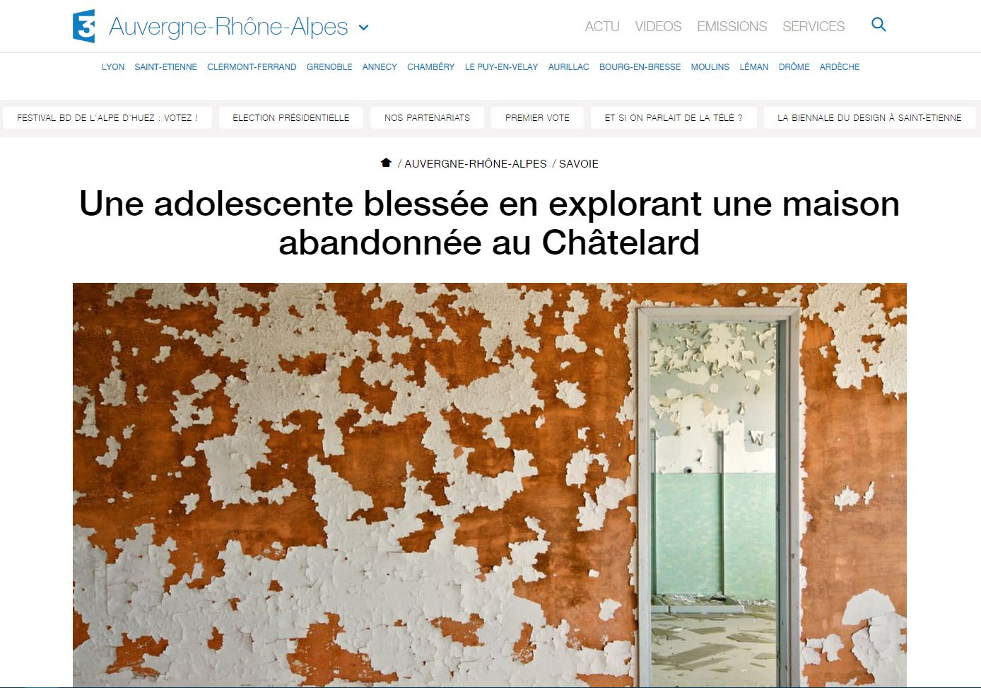 france3-auvergne-rhone-alpes-accident-urbex-12032017
