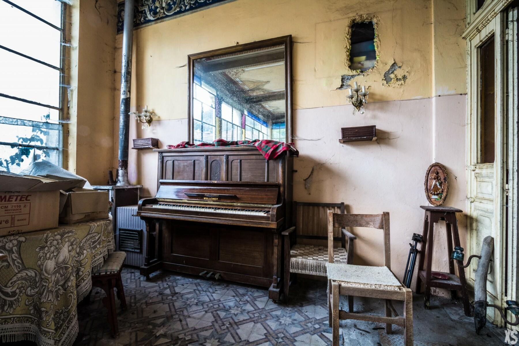 Hôtel abandonné en Italie