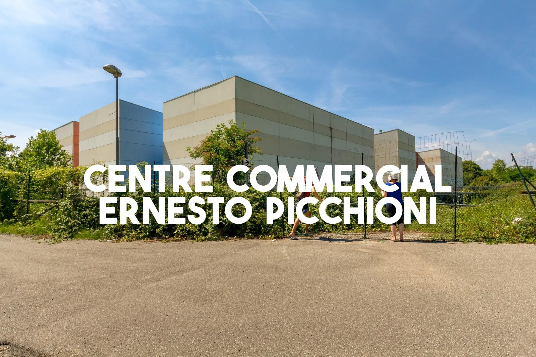 Centre commercial abandonné situé en Italie | urbexsession.com/centre-commercial-ernesto-picchioni | Urbex Italie