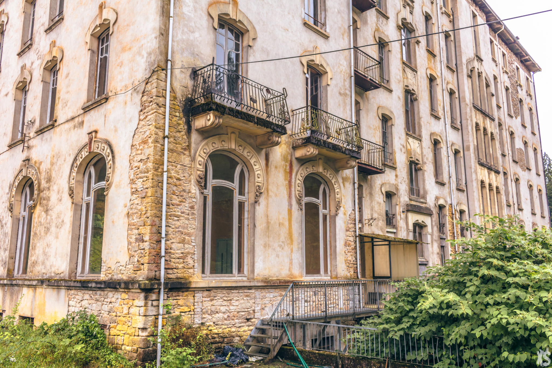 Hôtel abandonné situé en Lorraine | urbexsession.com/hotel-weidmann | Urbex France