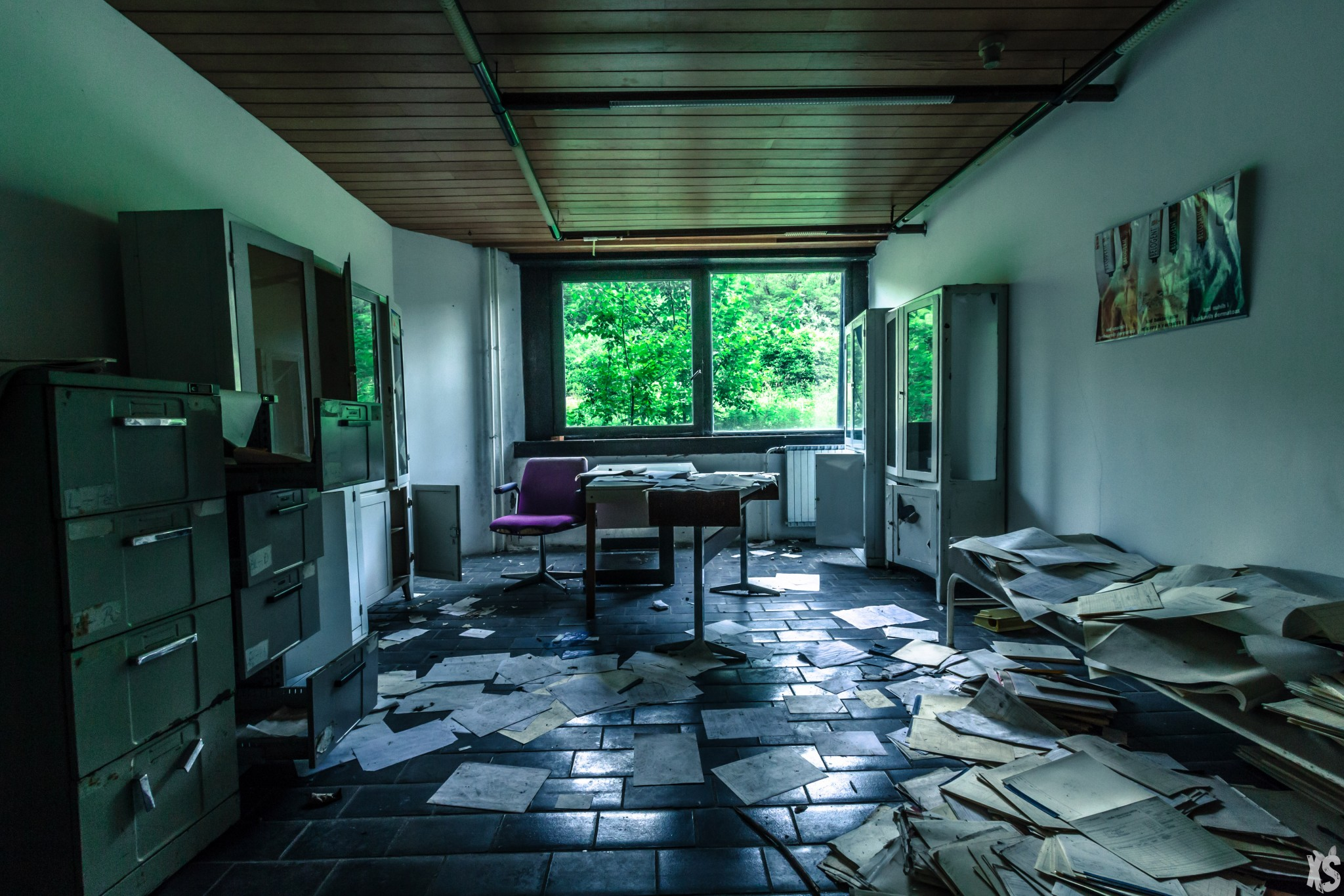 Université abandonnée