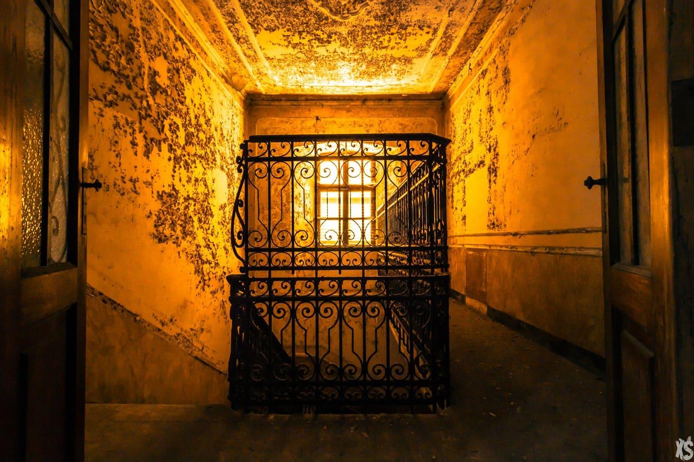 Asile abandonné situé en Italie