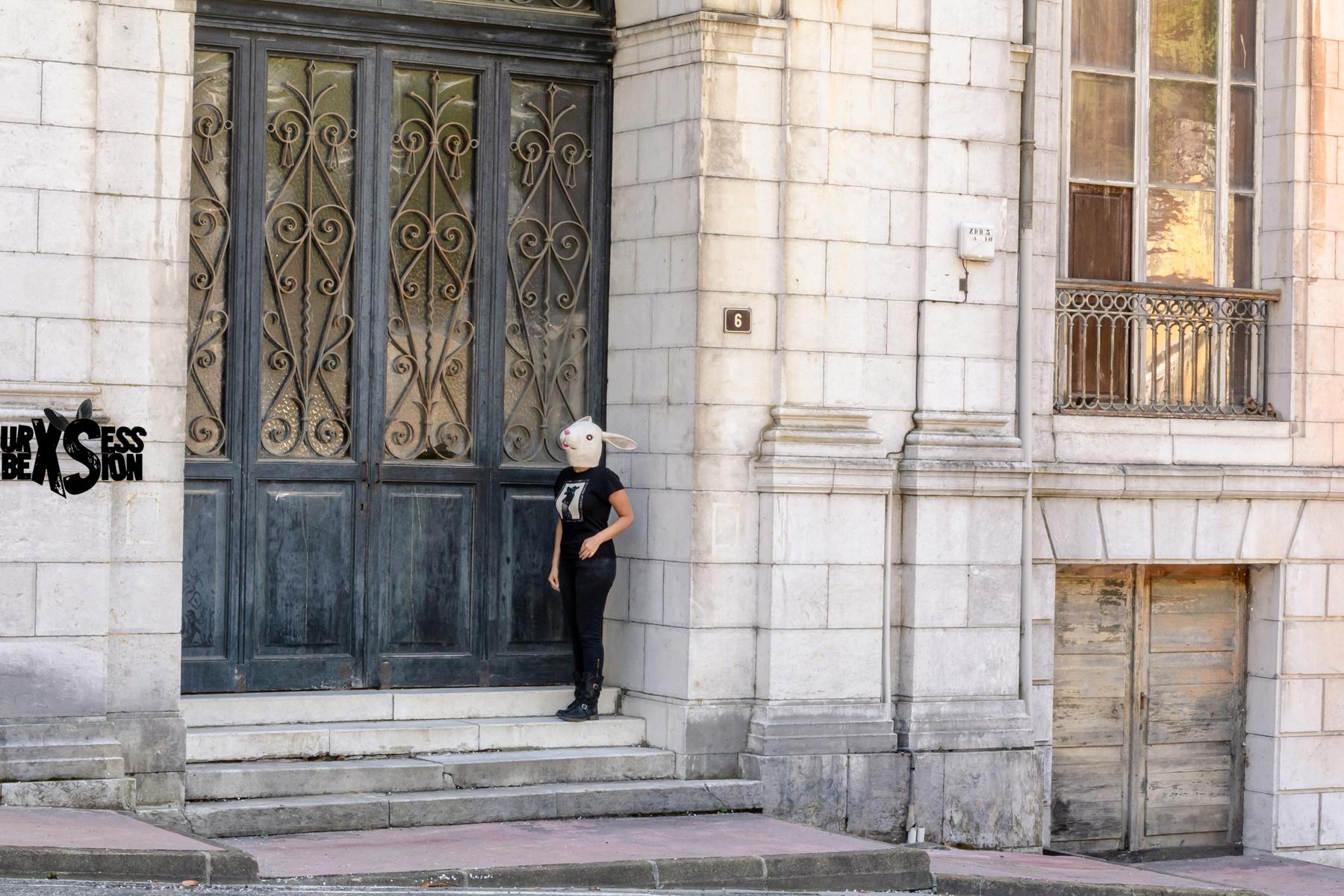 Hôtel abandonné dans le sud-ouest de la France