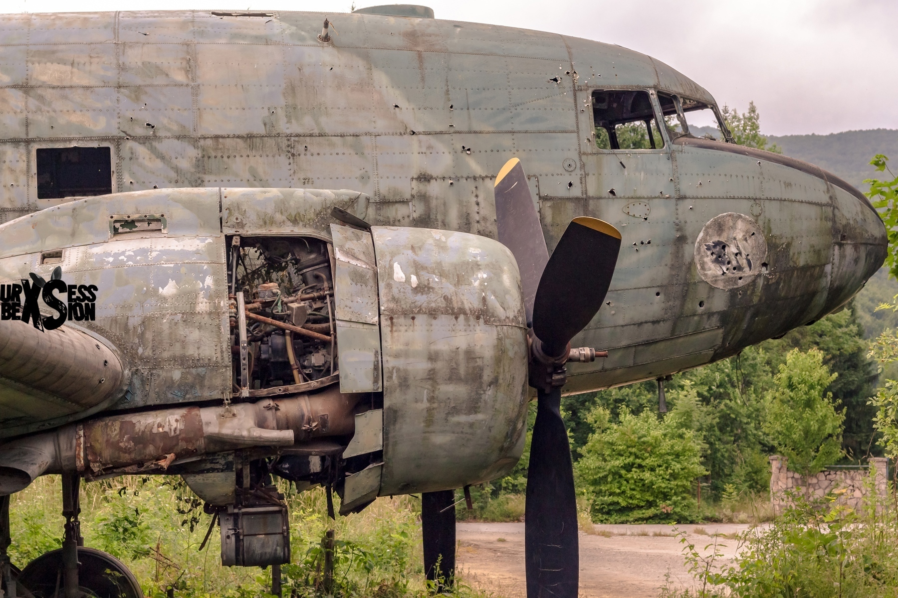 Mission H0 – Cimetière d'avions - Croatie