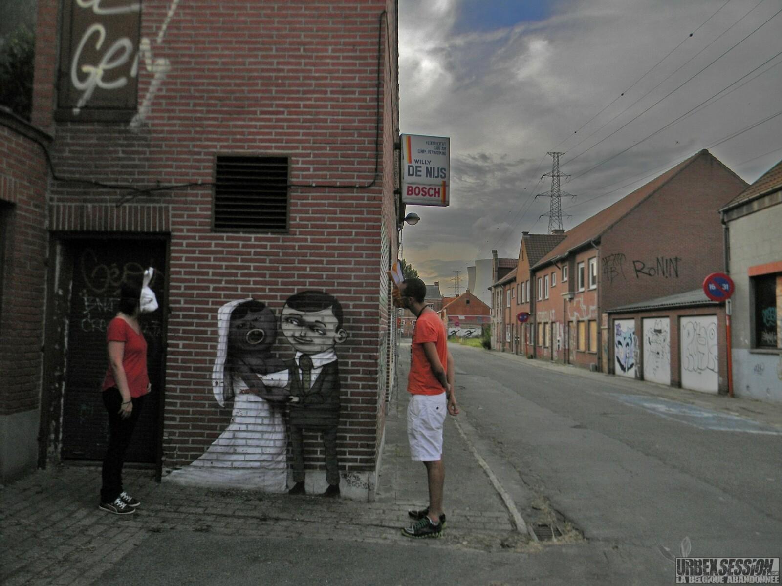 Ville abandonnée située en Belgique | urbexsession.com/doel | Urbex Belgique