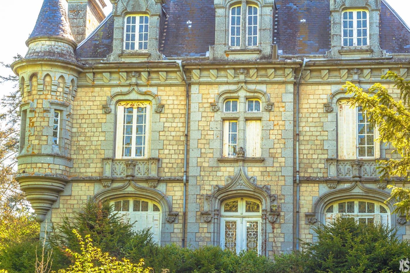 Château abandonné en France