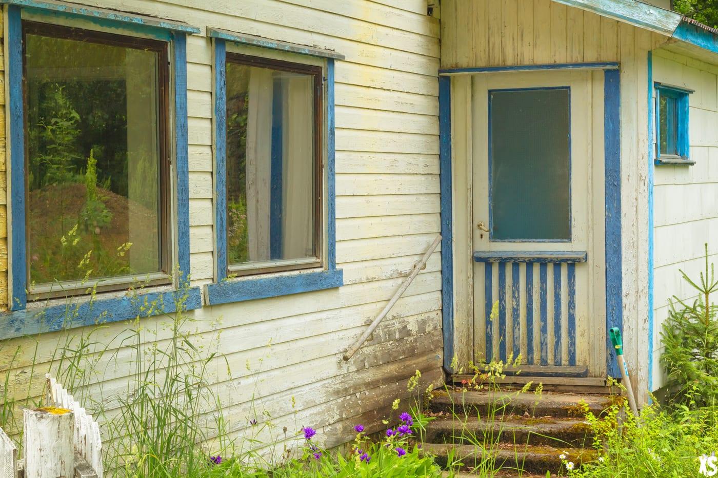 Maison abandonnée en Norvège - Urbex