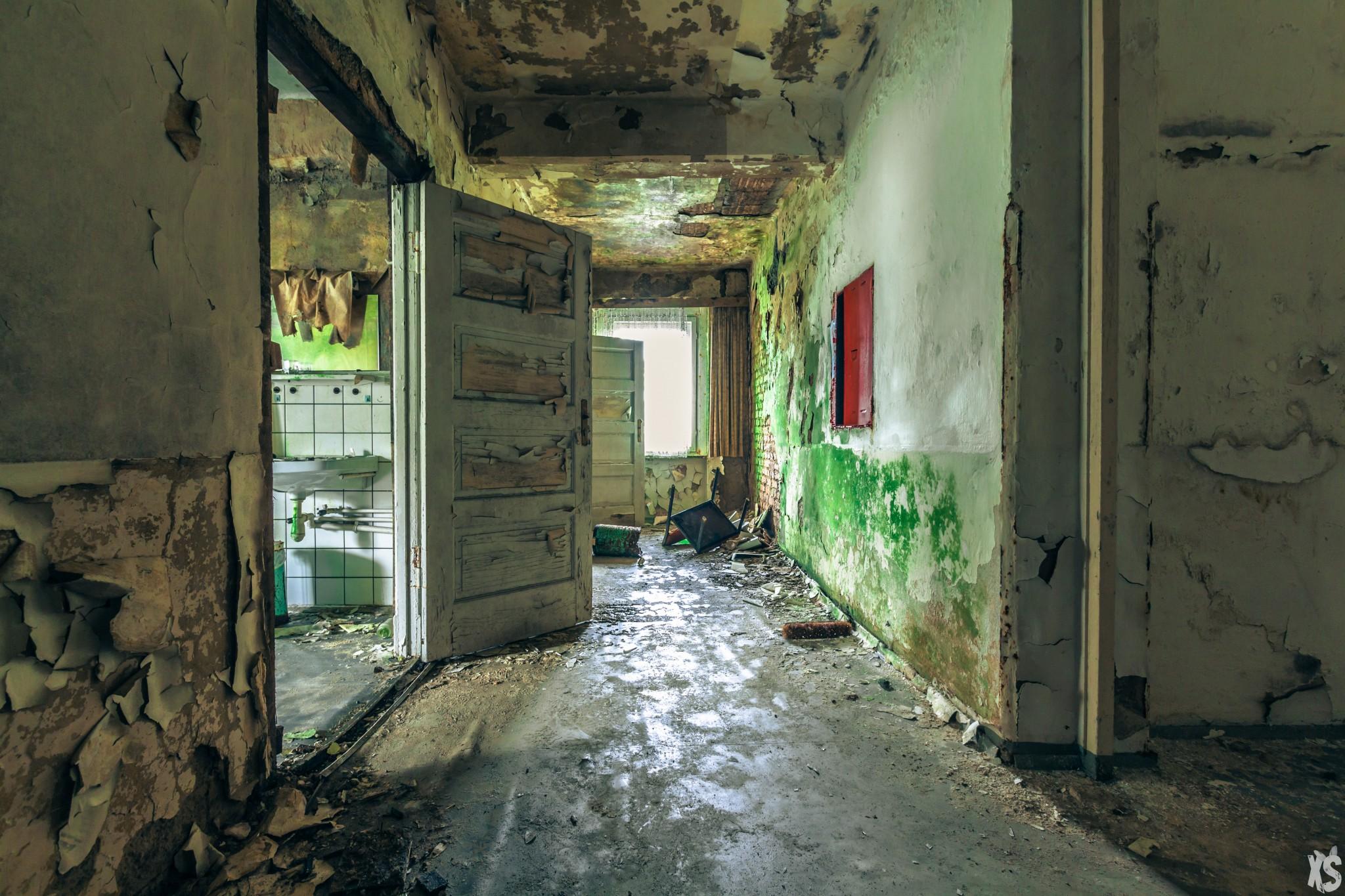 Hôtel abandonné en Allemagne | urbexsession.com/hotel-oleg-naumov | Urbex Allemagne